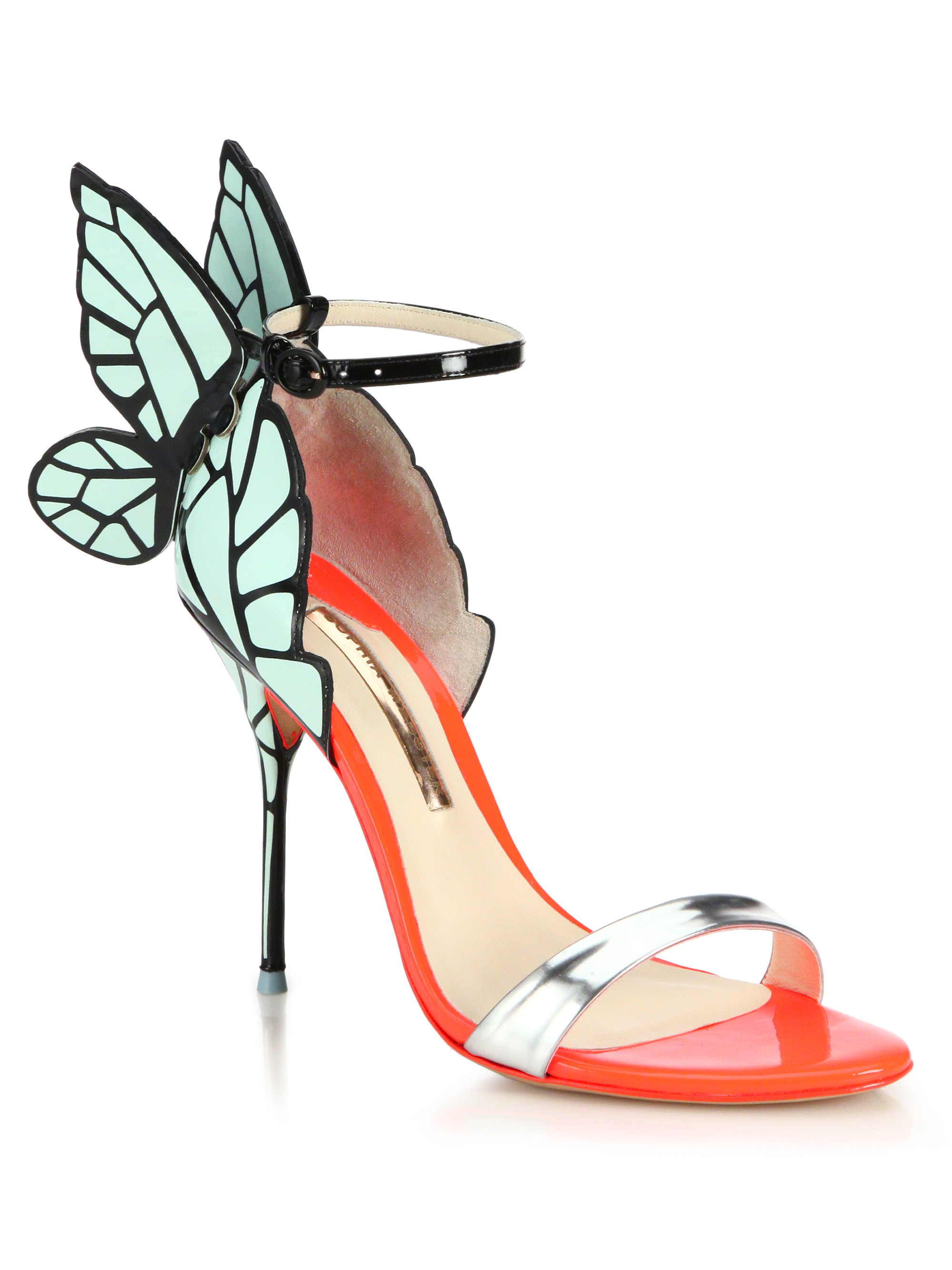 Lyst Sophia Webster Chiara Butterfly Patent Leather