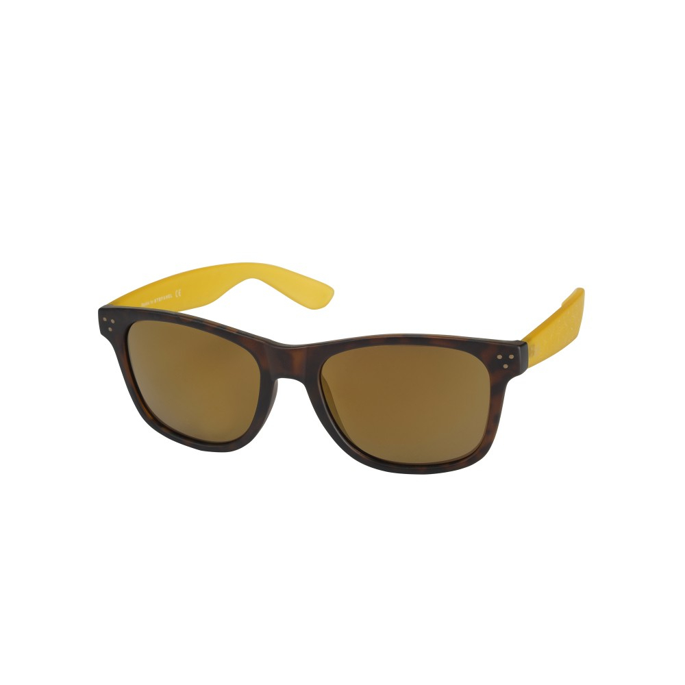 Stefanel Rectangle Shaped Sunglasses in Yellow (black ...