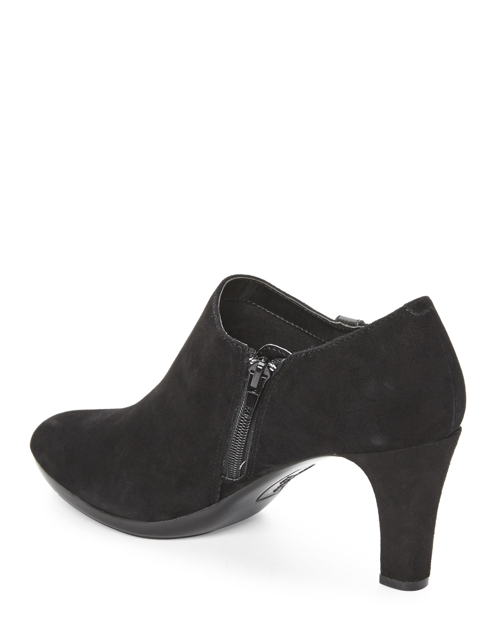 the latest online for sale get cheap Black Suede Seabed Booties