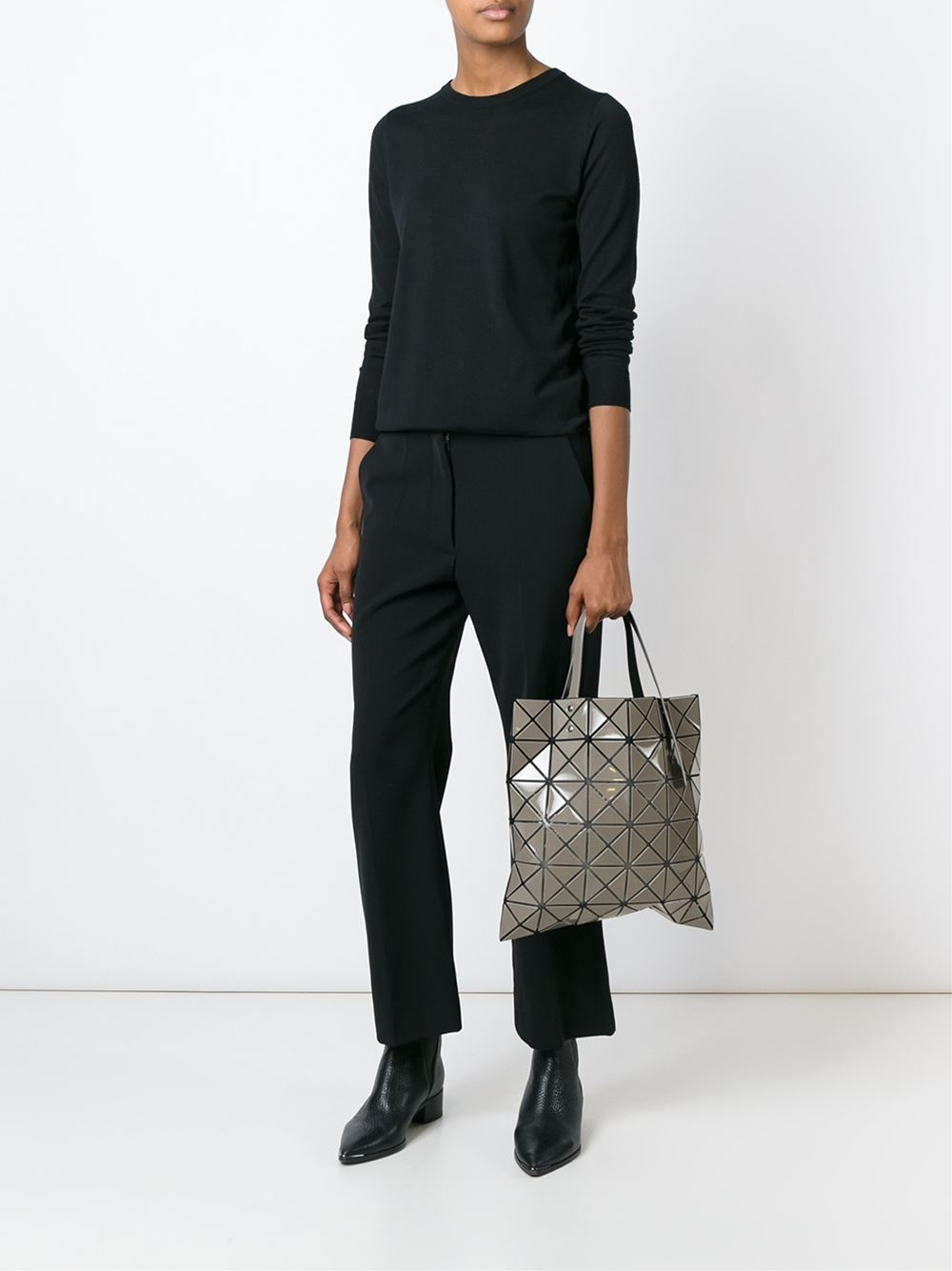 Lyst - Bao Bao Issey Miyake  lucent-2  Tote in Gray f95e8fba1576d