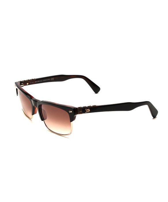 John galliano Half Frame Sunglasses in Orange for Men Lyst
