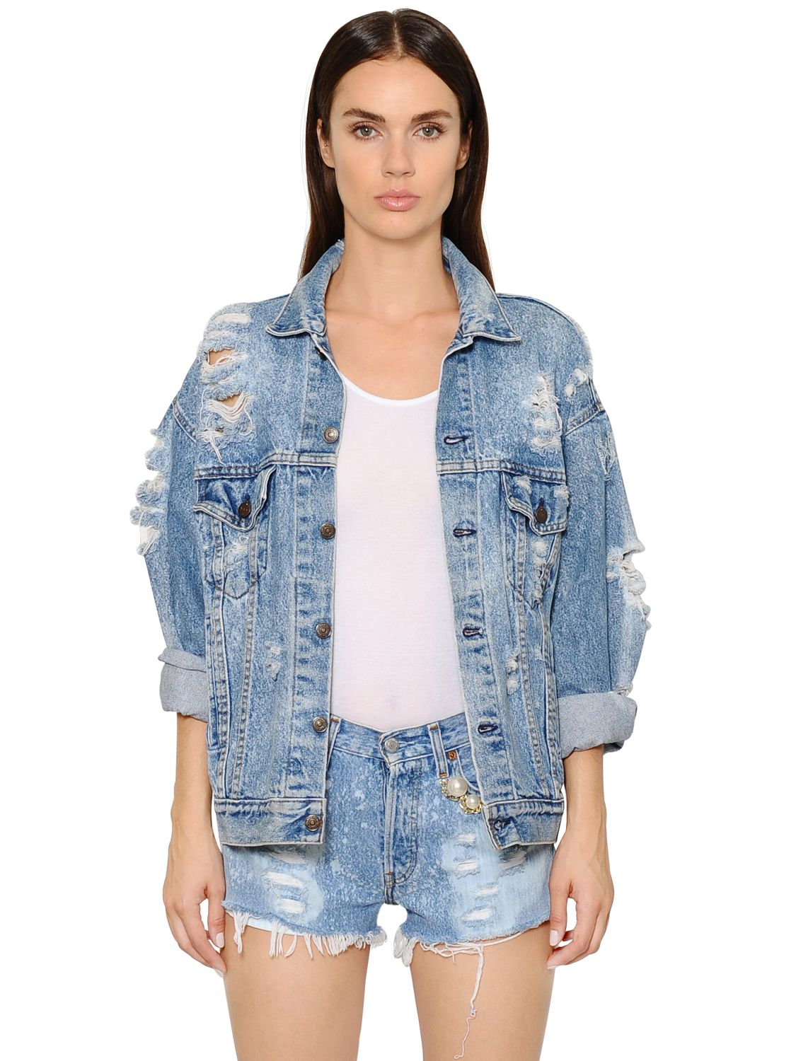 Destroyed Women S Jeans