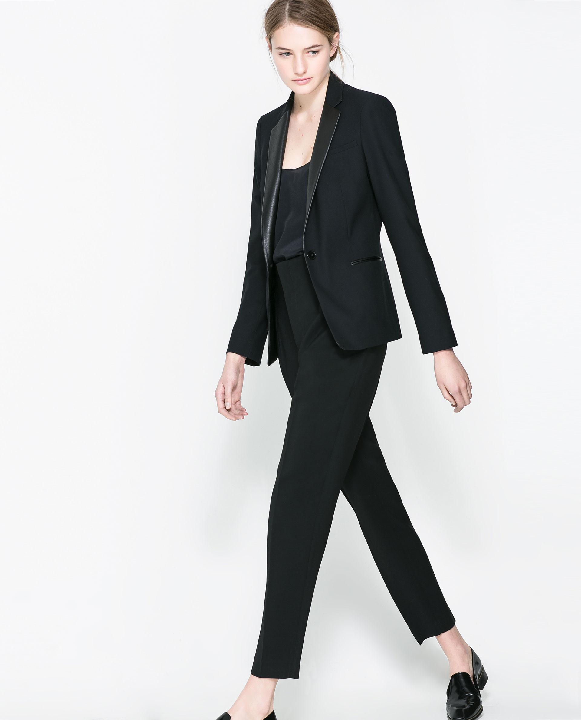 Zara Openback Dress in White | Lyst