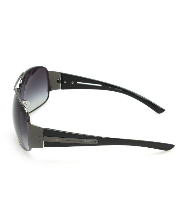 abb3ff7043 Guess Black Round Sunglasses