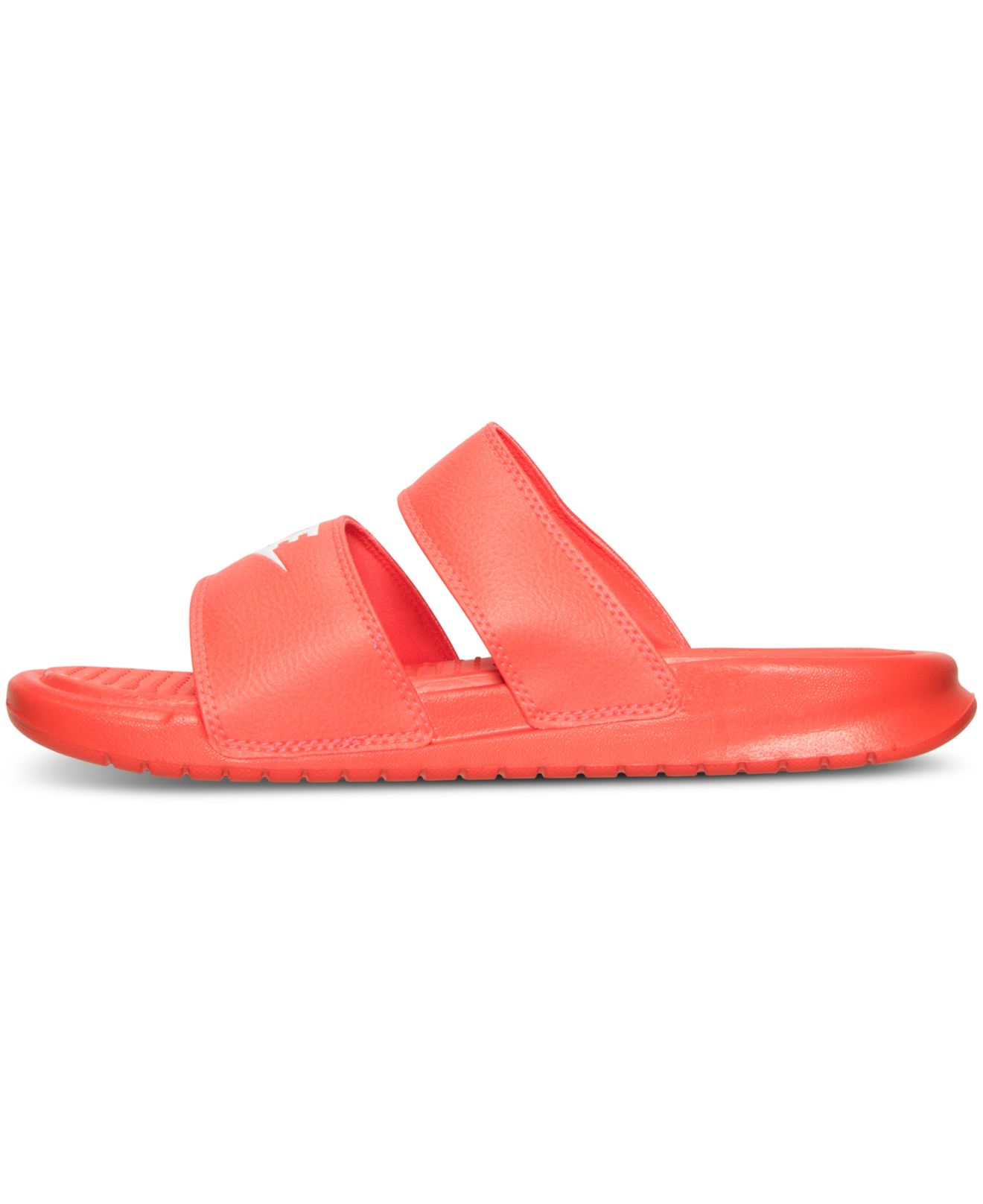 ad01214607ed ... hot lyst nike womens benassi duo ultra slide sandals from finish line  60575 e64c6