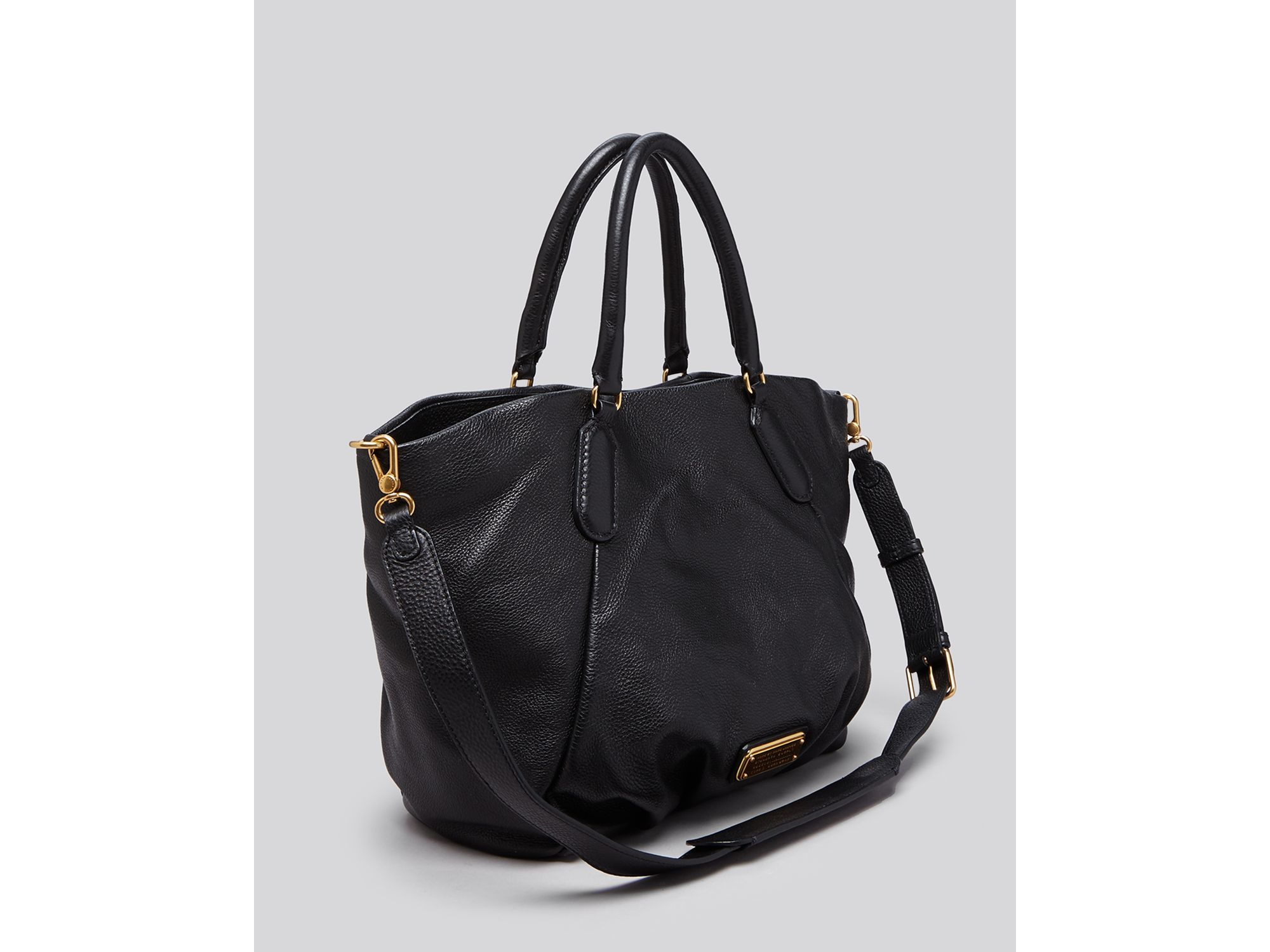 Marc By Marc Jacobs Leather Tote - New Q Fran in Black