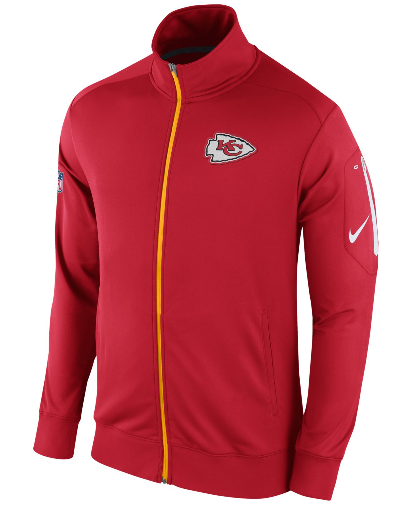 Nike Men S Kansas City Chiefs Empower Jacket In Red For
