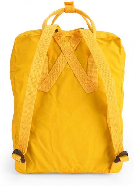 Fjallraven Kanken Backpack In Yellow For Men Lyst