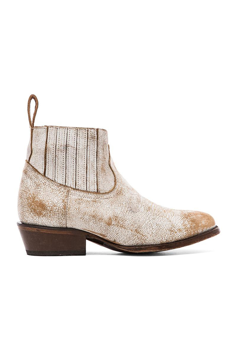 matisse mustang boot in white lyst