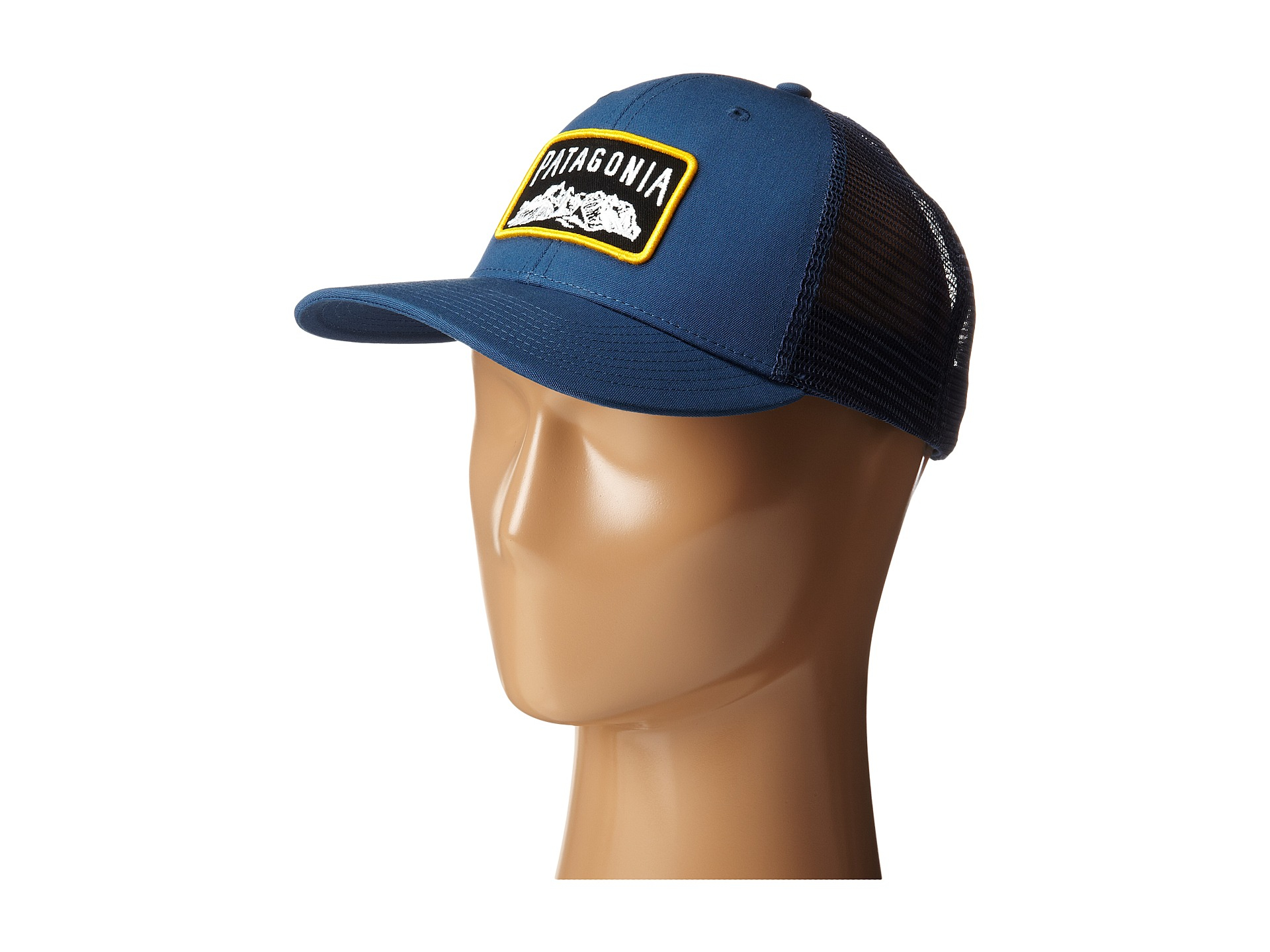 bbe70595275 Patagonia Climb A Mountain Trucker Hat in Blue - Lyst