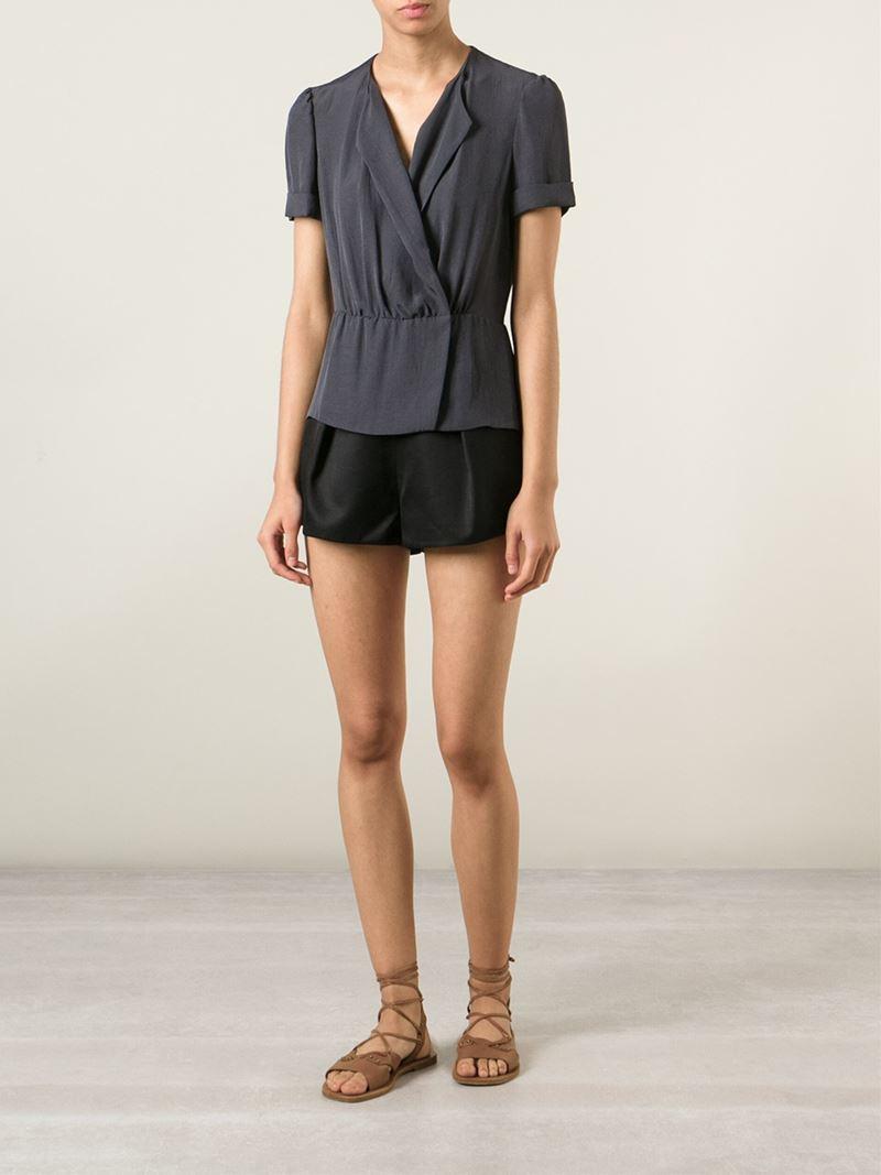Étoile Isabel Marant 'Fergie' Top in Grey (Grey)