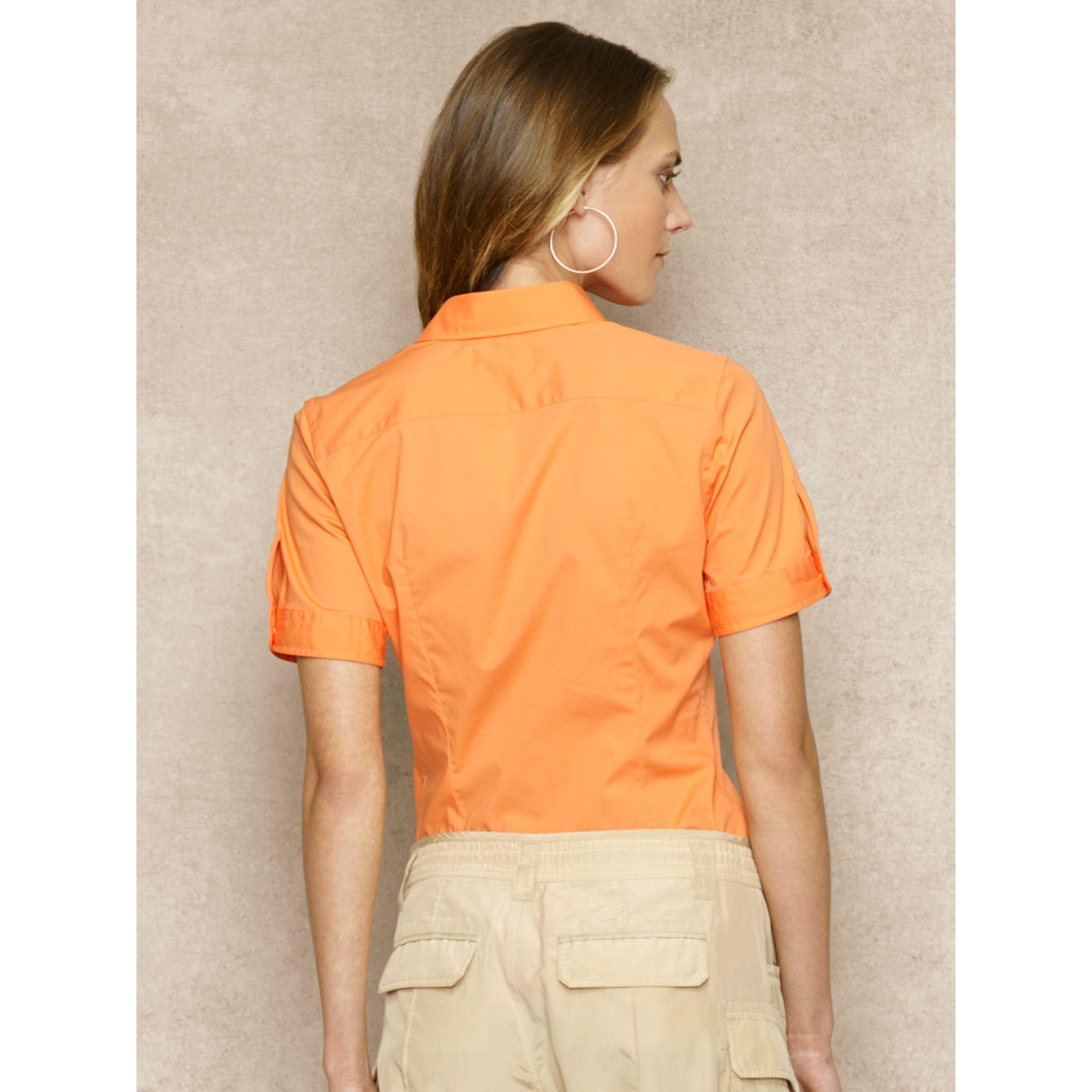 Ralph Lauren Blue Label Super Slim Fit Stretch Shirt In