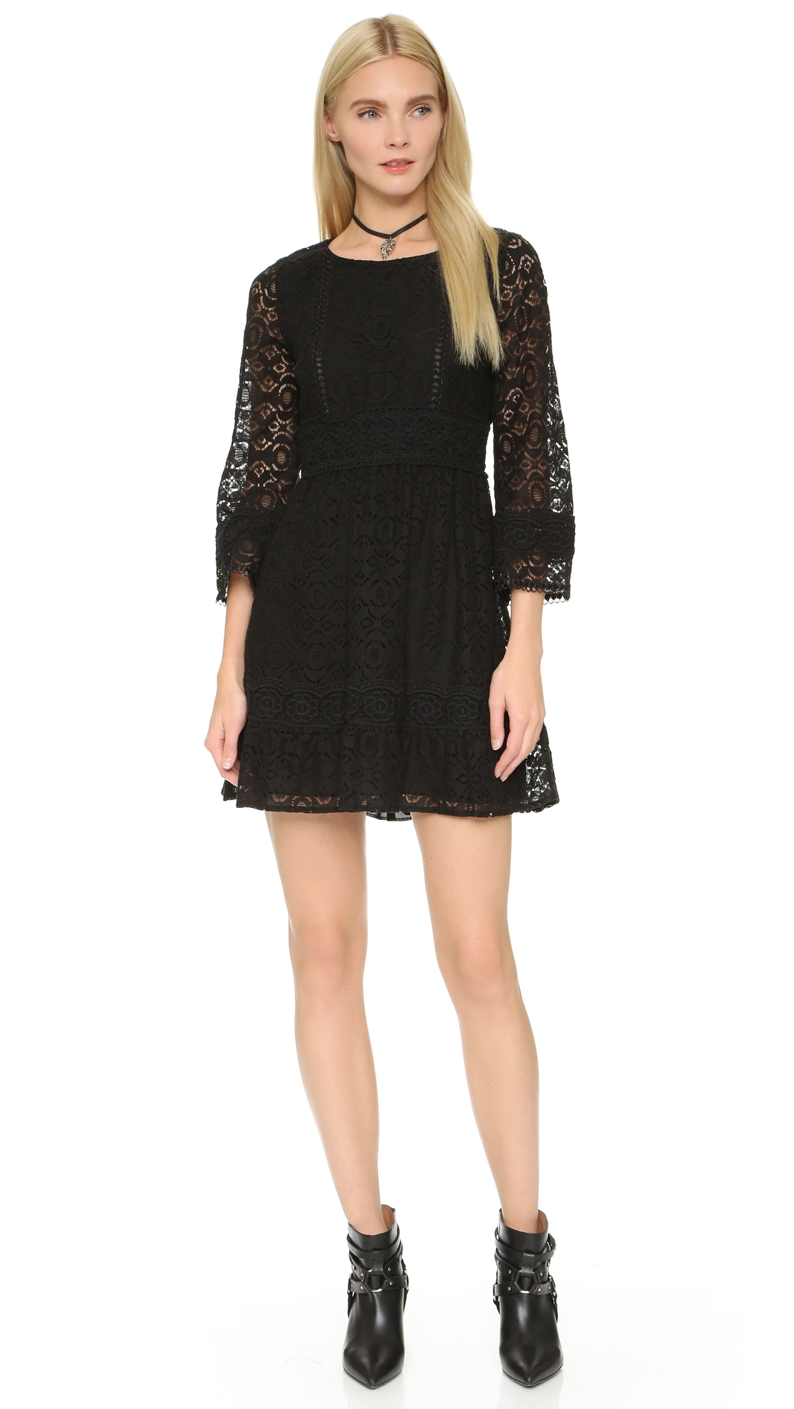 View Anna Sui Lace Dress JPG