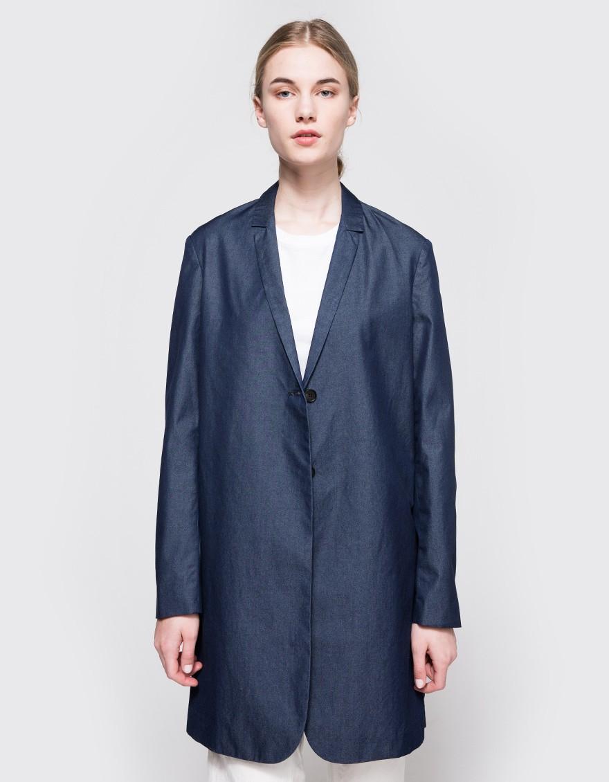 6397 oversized blazer in blue lyst. Black Bedroom Furniture Sets. Home Design Ideas
