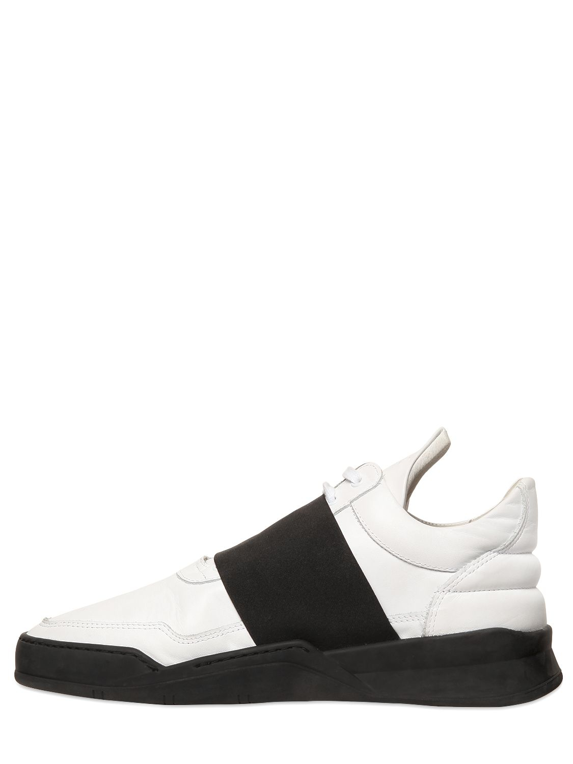 Filling Pieces Elastic Band Leather