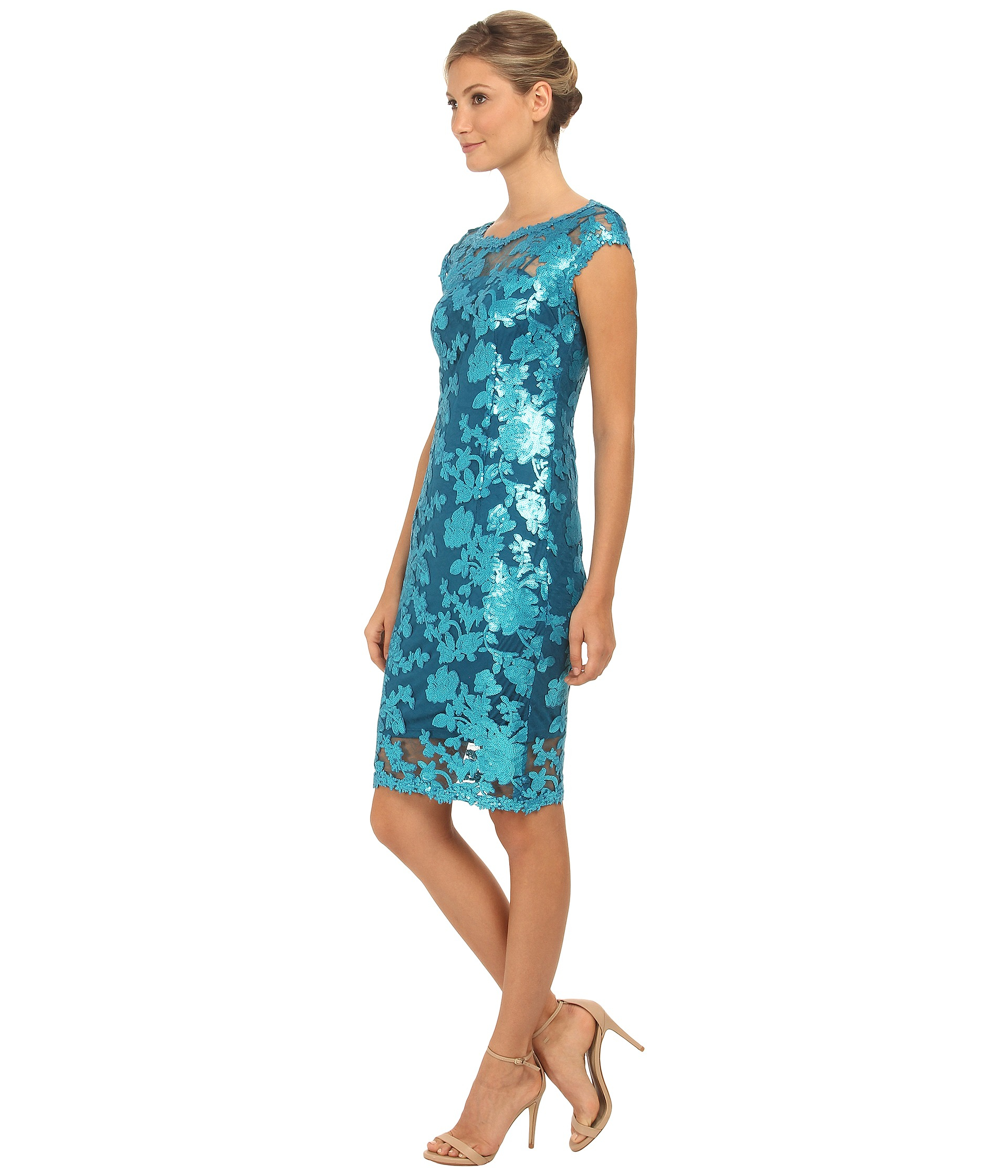 f2af3847497 Gallery. Previously sold at  Zappos · Women s Adrianna Papell Lace Dress