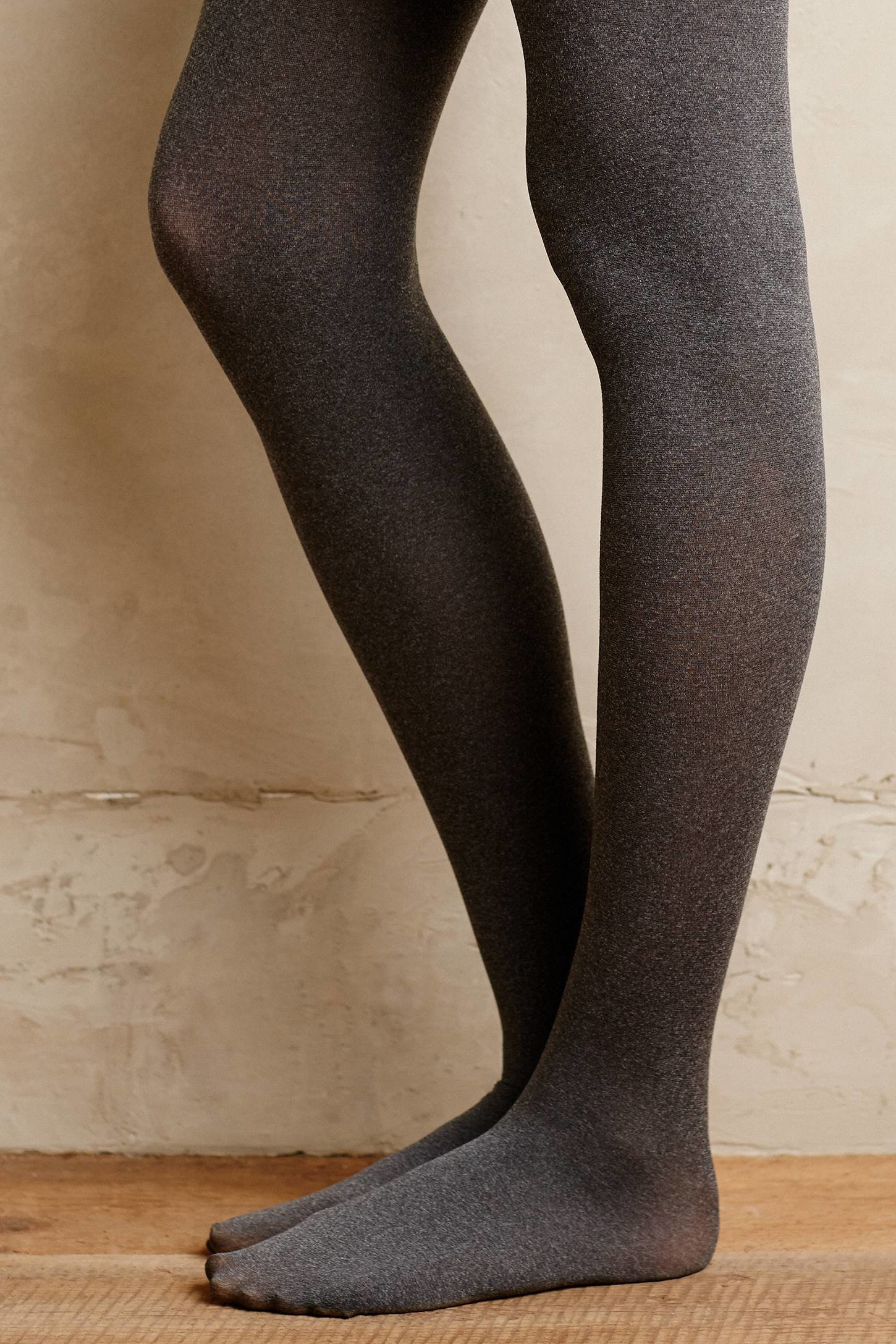 Lyst - Pure + Good Opaque Tights in Gray