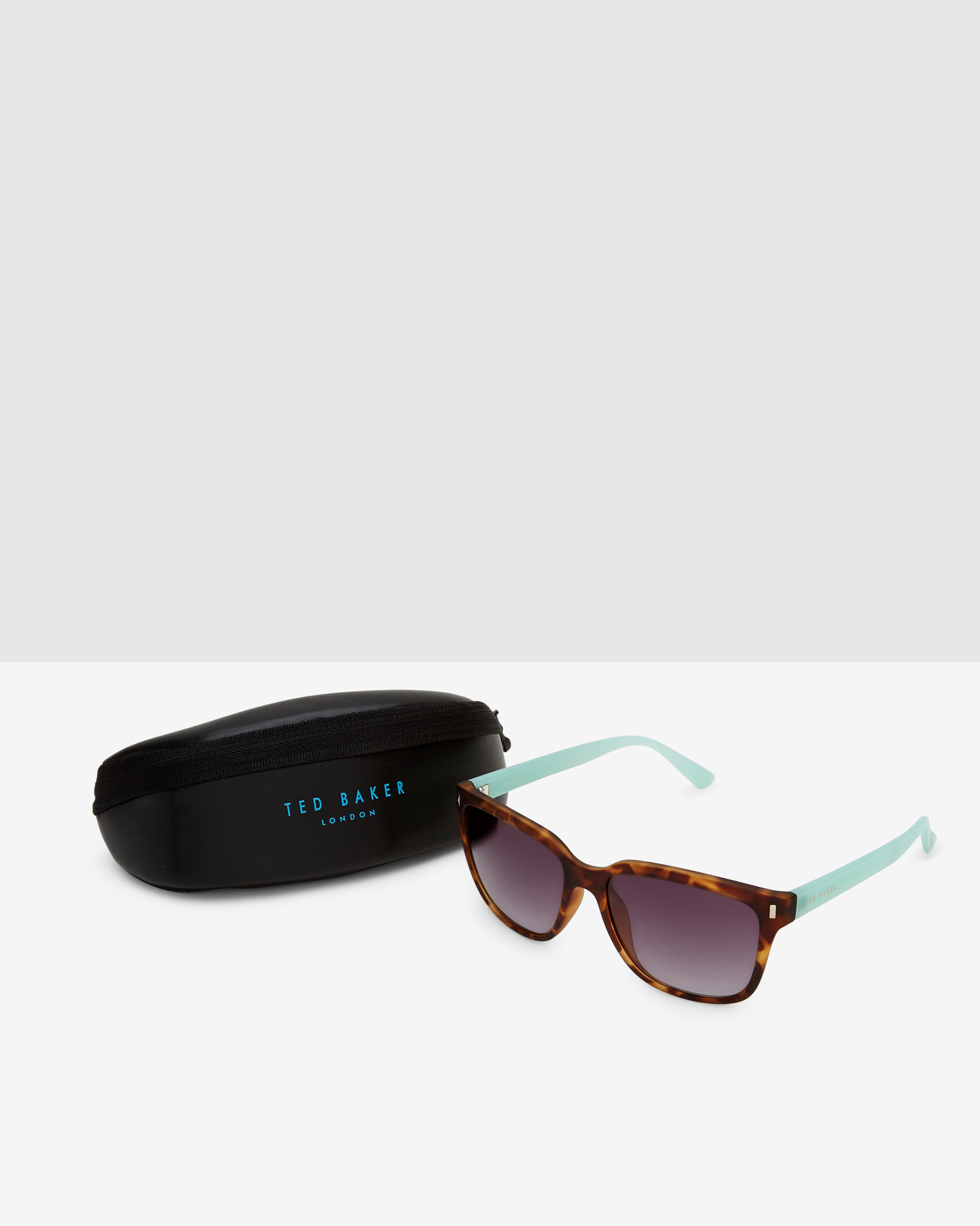 d46c4d91360dd Ted Baker Contrast Arms Sunglasses in Brown - Lyst