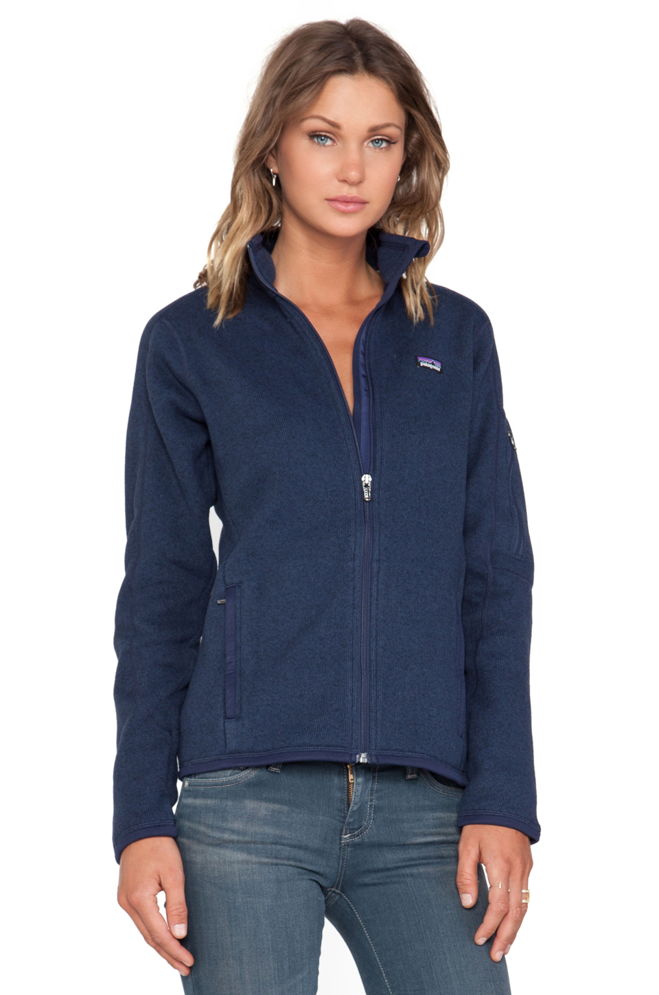 Patagonia Better Sweater Jacket in Blue | Lyst