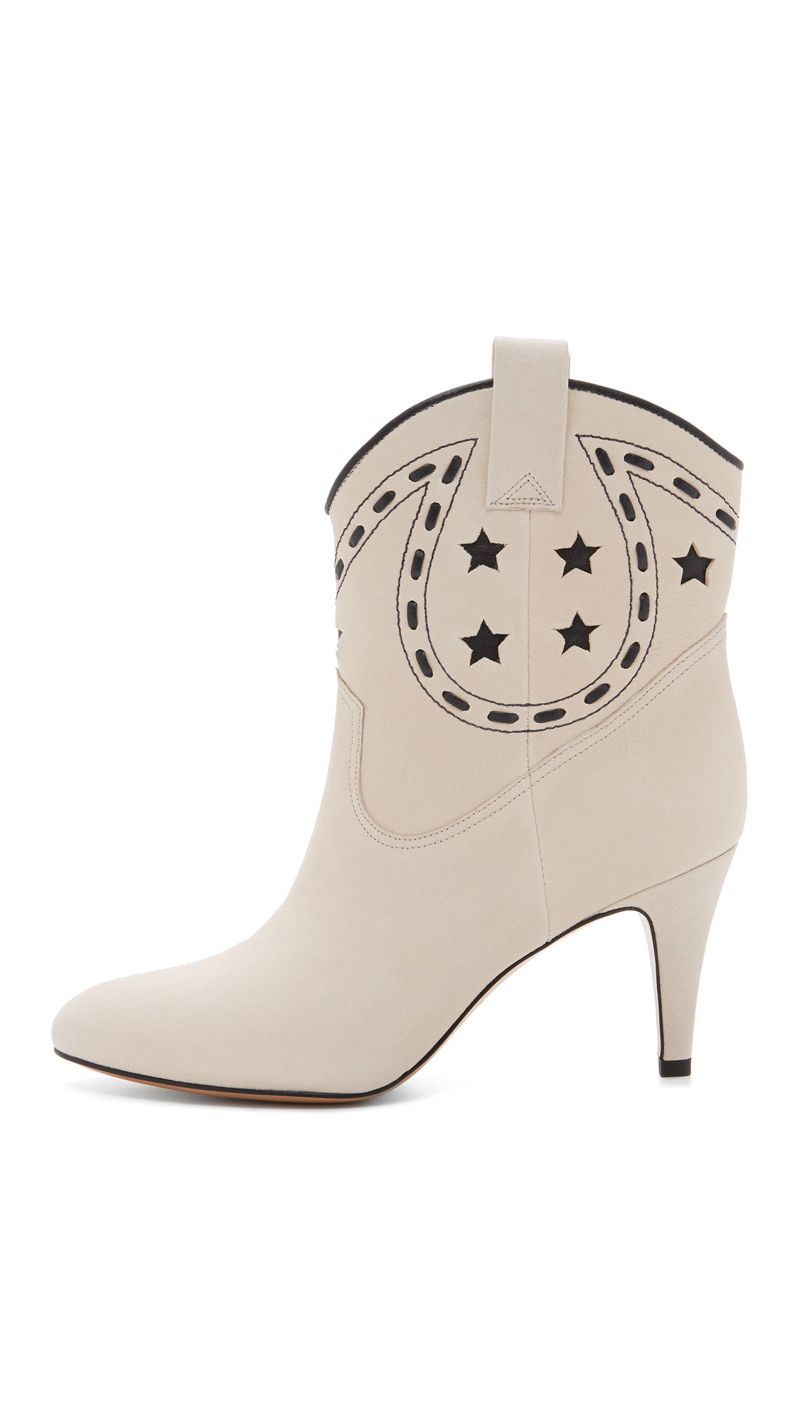 a89c4c9d3c2 Lyst - Marc Jacobs Georgia Cowboy Booties in White