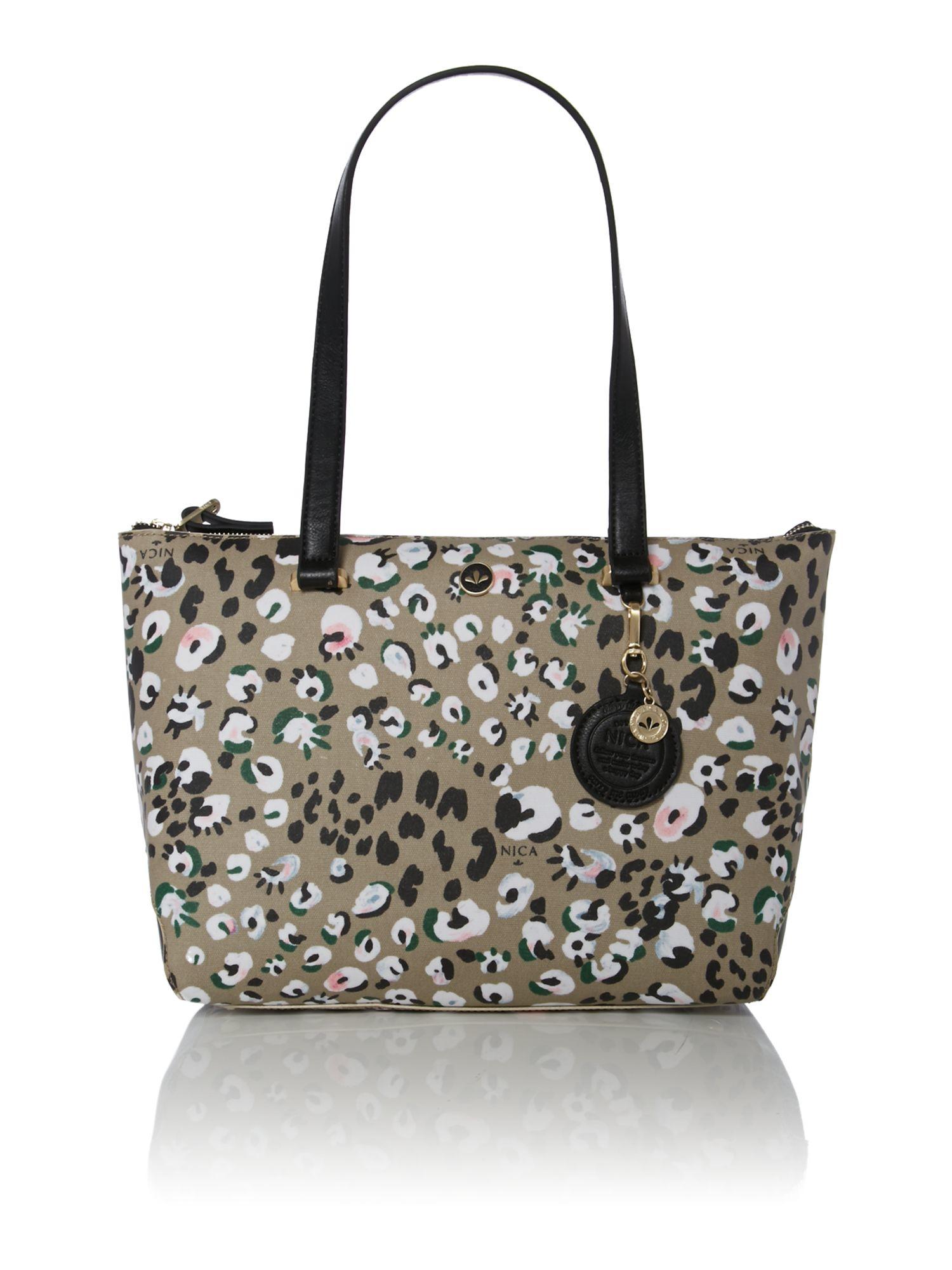 Nica Lana Multi Coloured Tote Bag