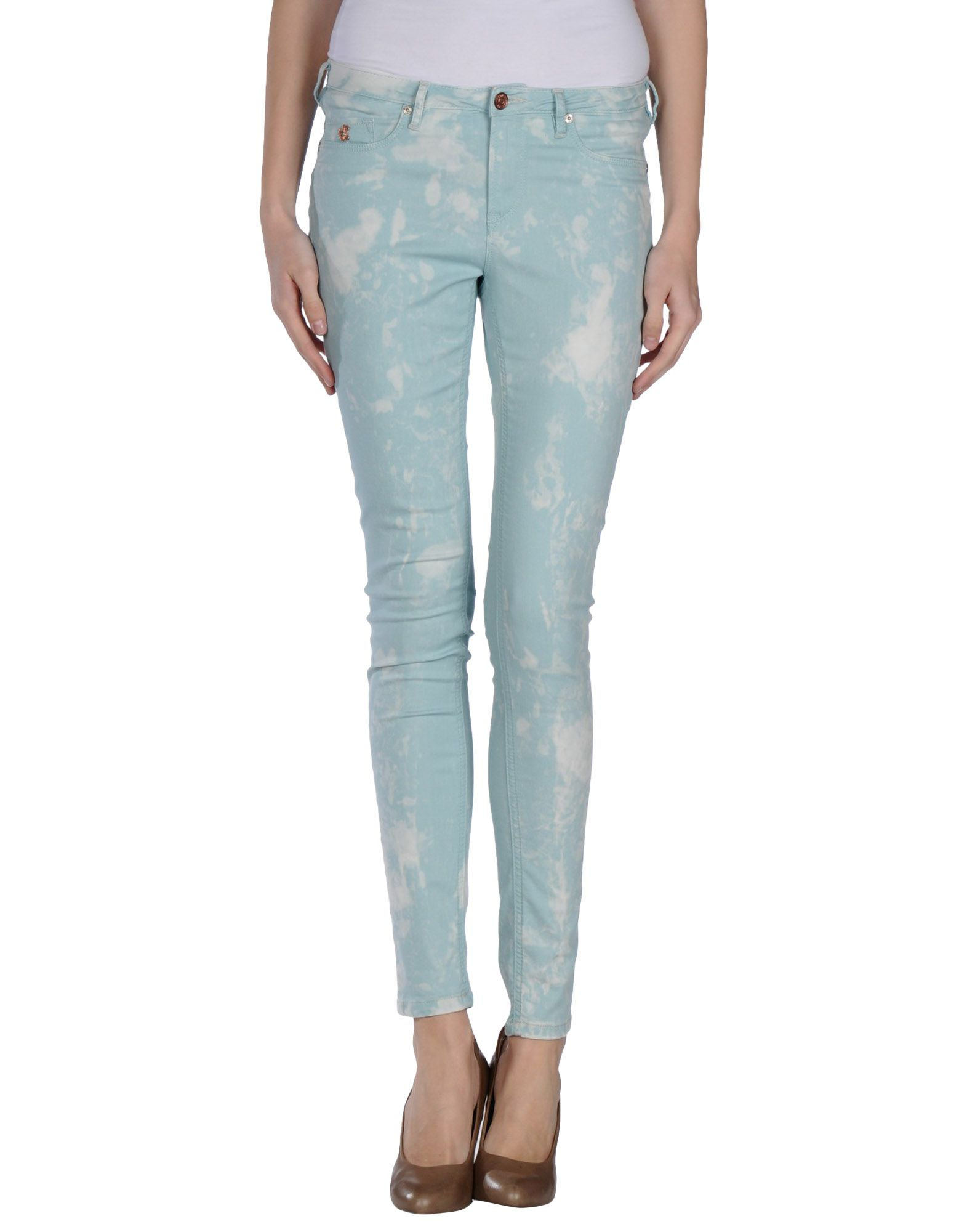 Maison Scotch Casual Pants In Blue Lyst