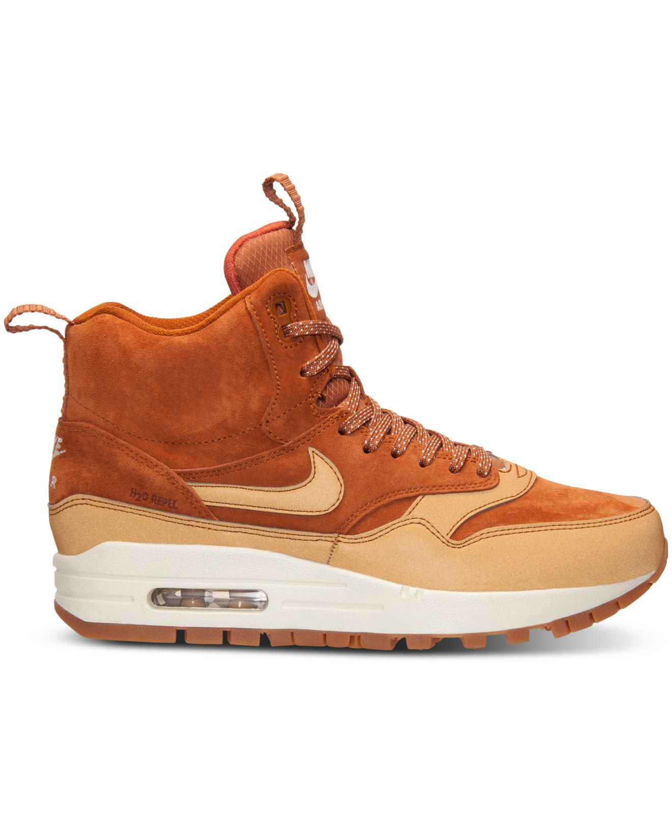 Lyst - Nike Women s Air Max 1 Mid Sneakerboot From Finish Line in ... d8f8a0c658