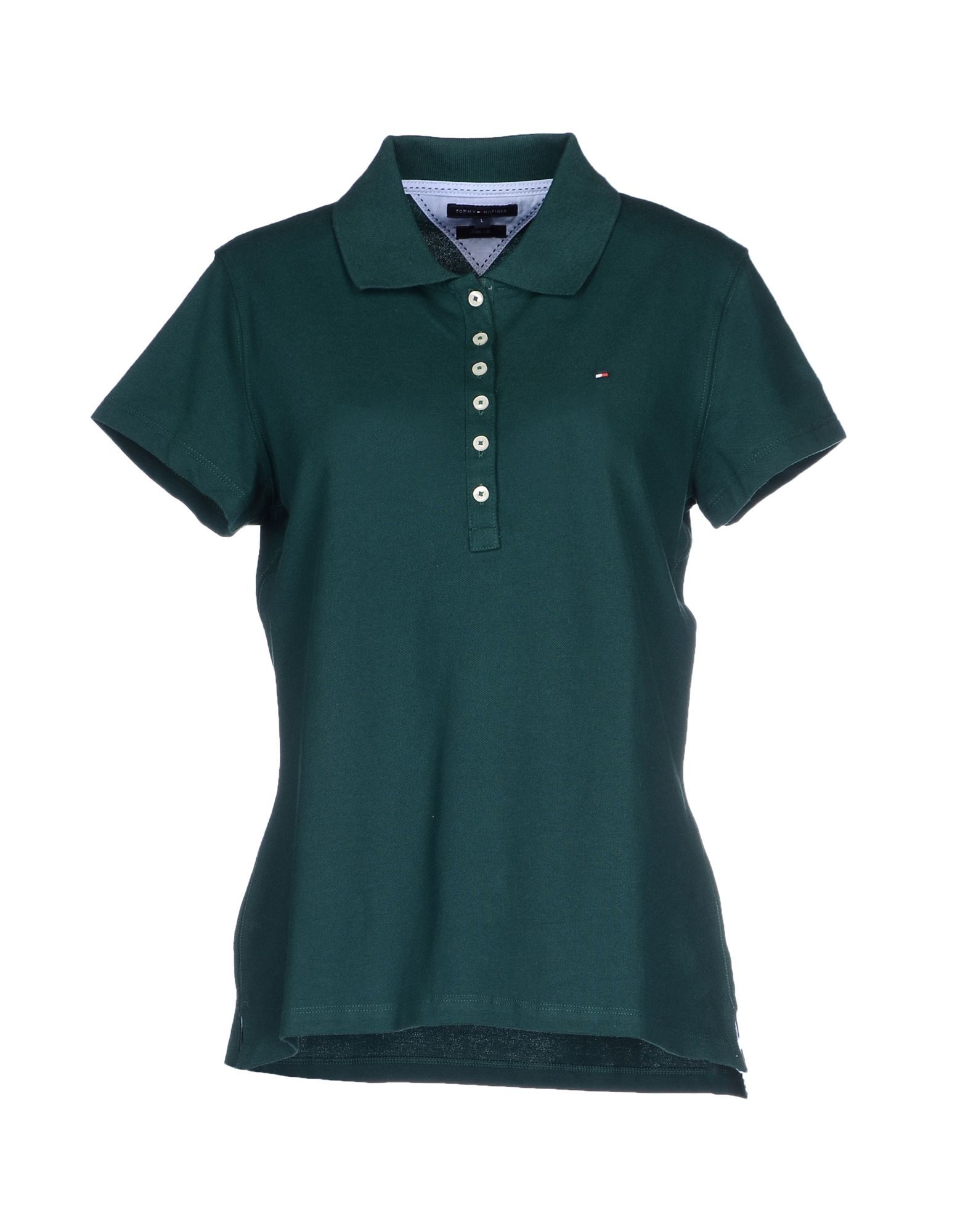 tommy hilfiger polo shirt in green dark green lyst. Black Bedroom Furniture Sets. Home Design Ideas