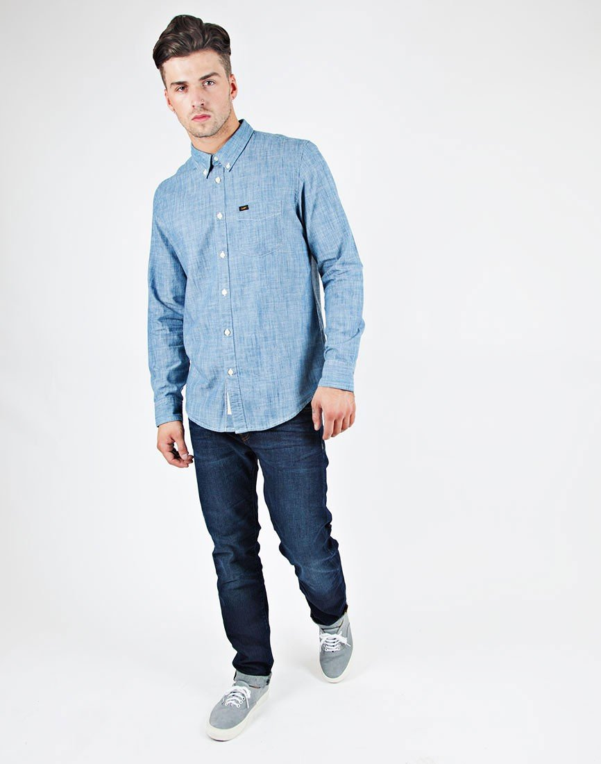 Jeans Button Down Shirt | Artee Shirt