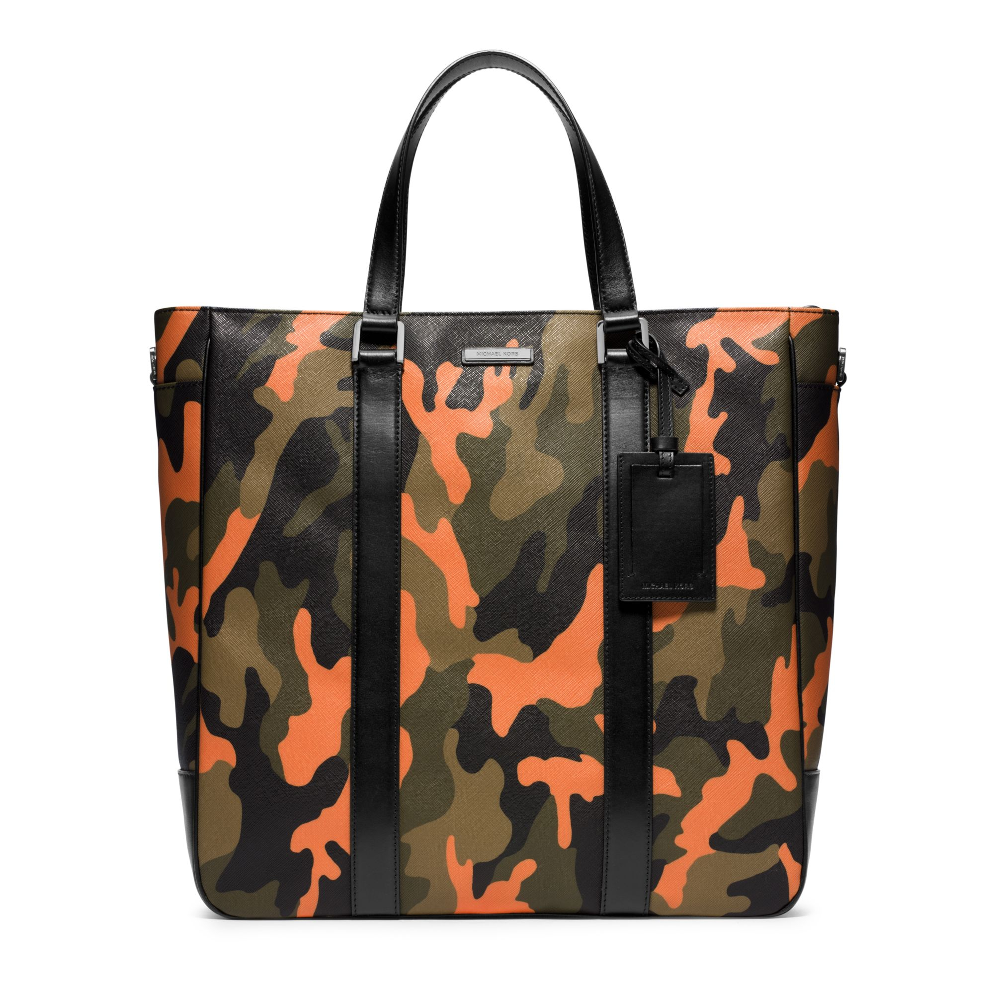 7edc263e419d ... australia lyst michael kors jet set mens camouflage large tote in green  for men 2e5f8 1f4db ...