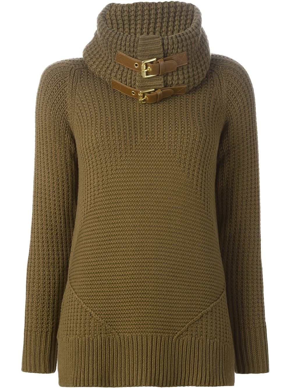 Lyst Michael Michael Kors Ribbed Knit Buckle Detail