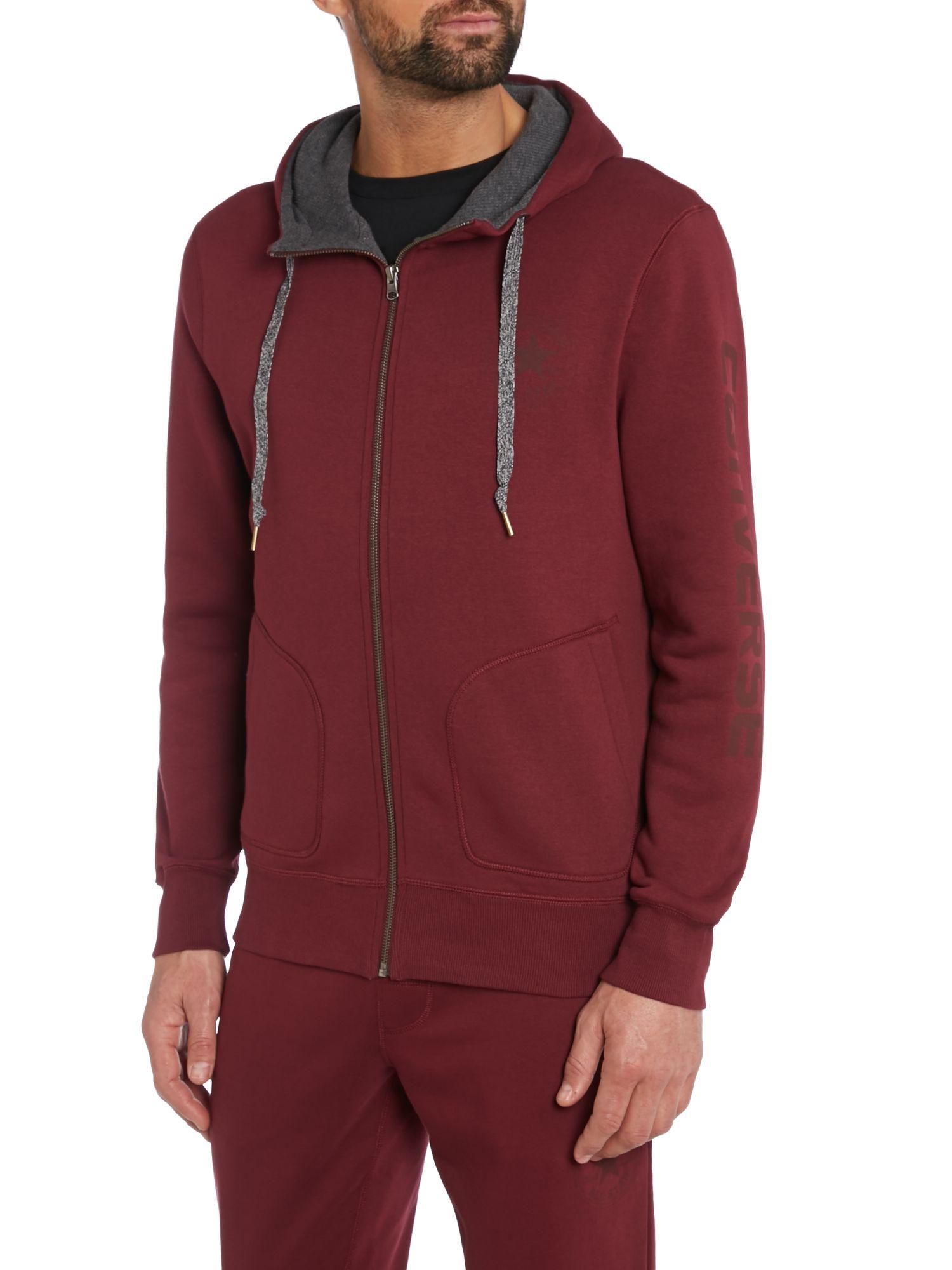 Fleece Zip Up Hoodie - Trendy Clothes