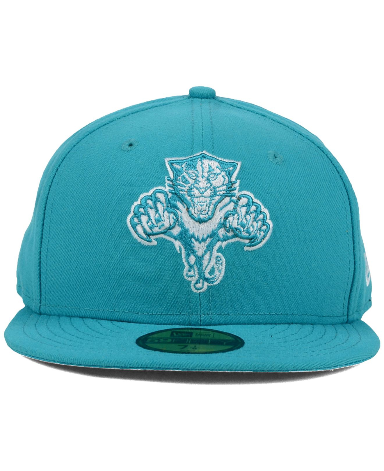 check out b6e0a 6b965 KTZ Florida Panthers C-dub 59fifty Cap in Blue for Men - Lyst