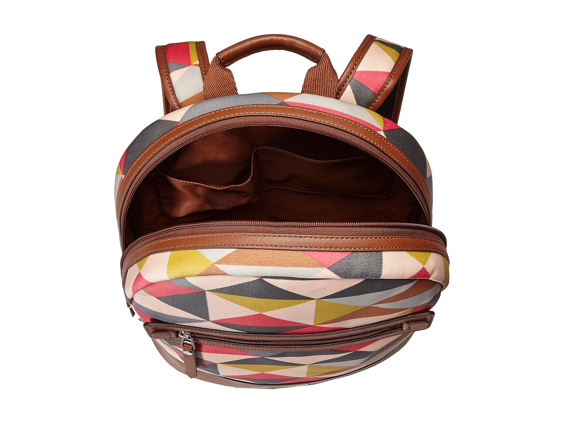 df39ea85e151 Lyst - Fossil Dawson Backpack in Pink