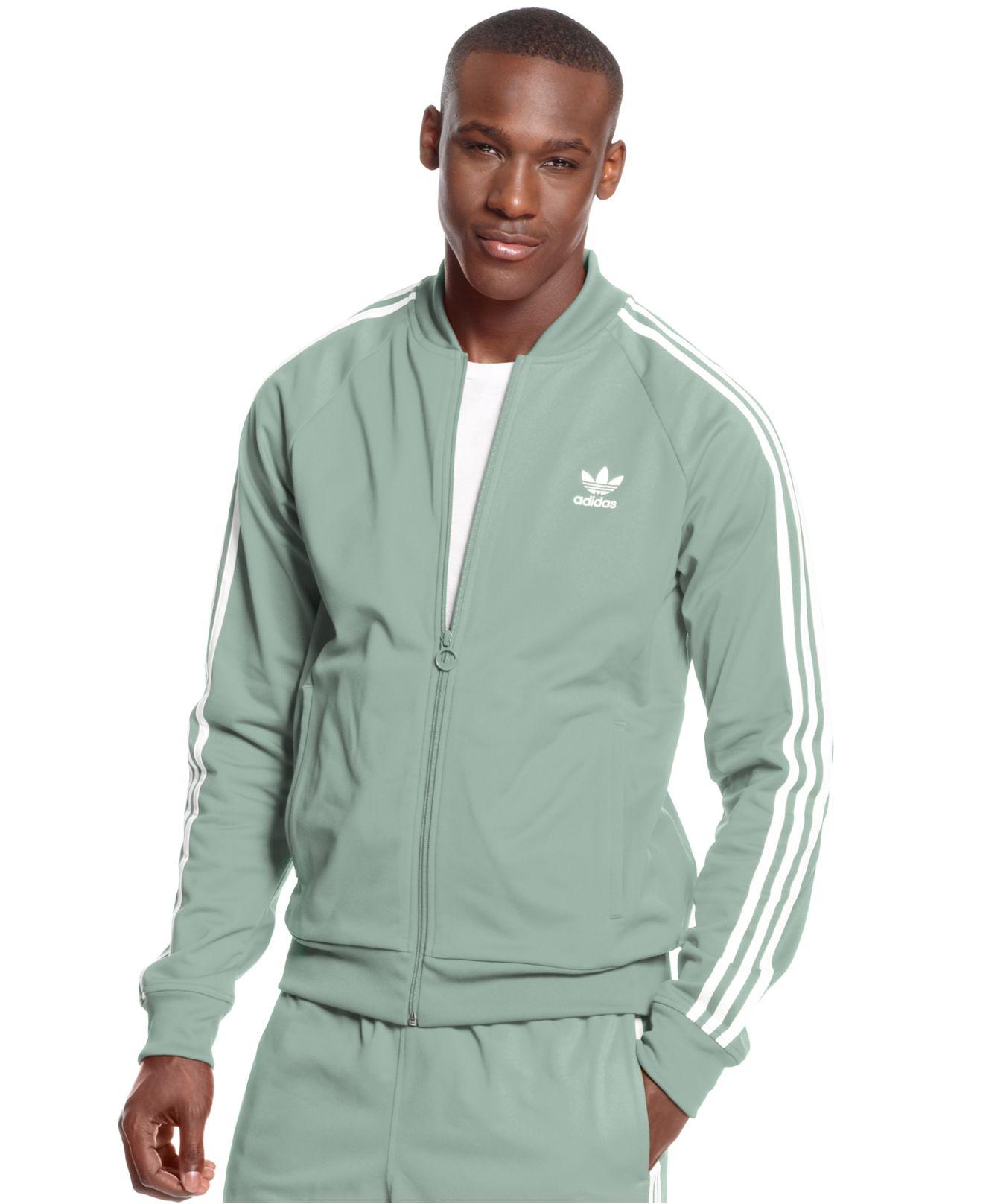 64b211b88b4d Lyst - adidas Originals Superstar Track Jacket in Gray for Men