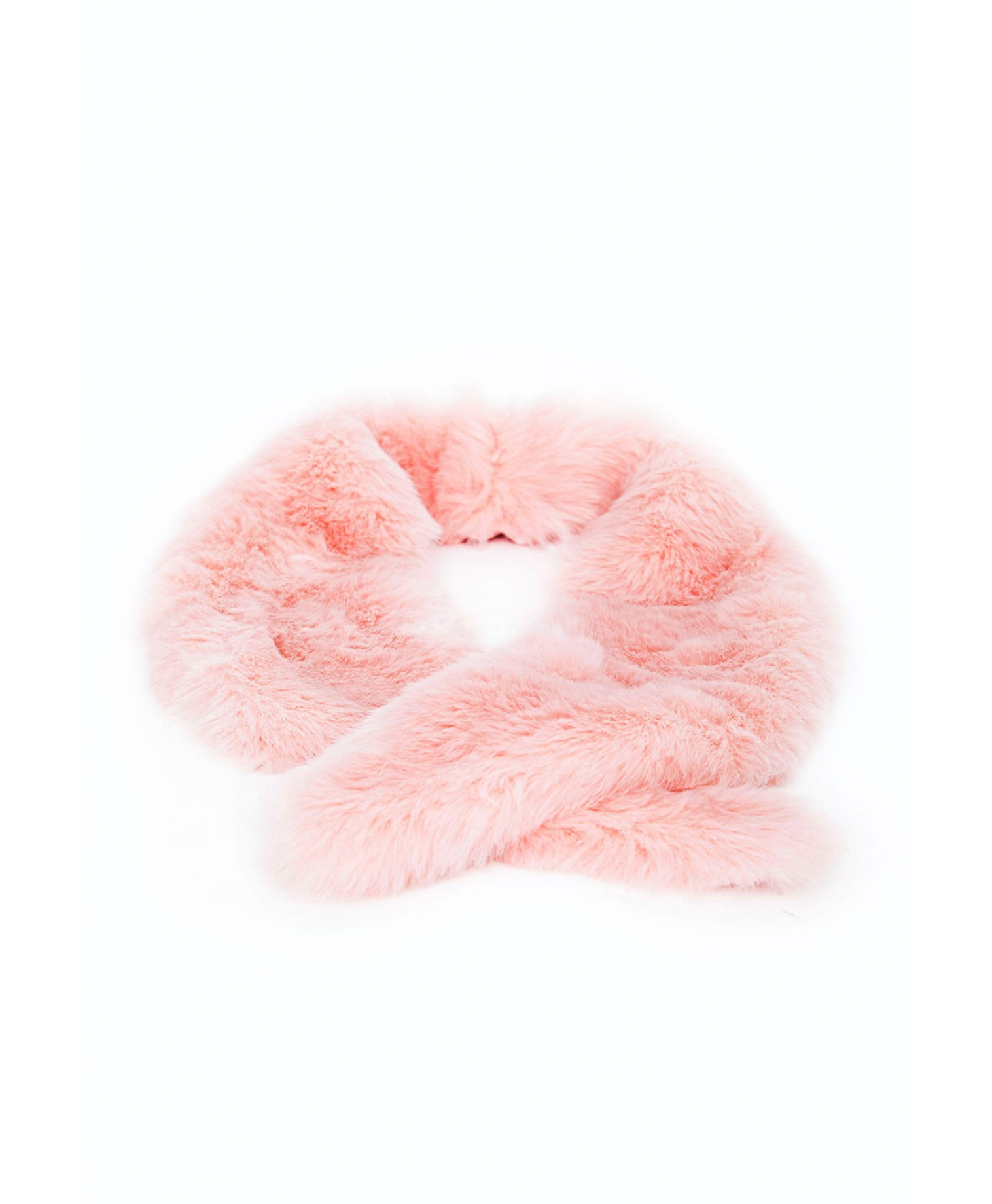 detailed images 100% genuine details for Missguided Rebel Long Faux Fur Collar Blush in Pink - Lyst