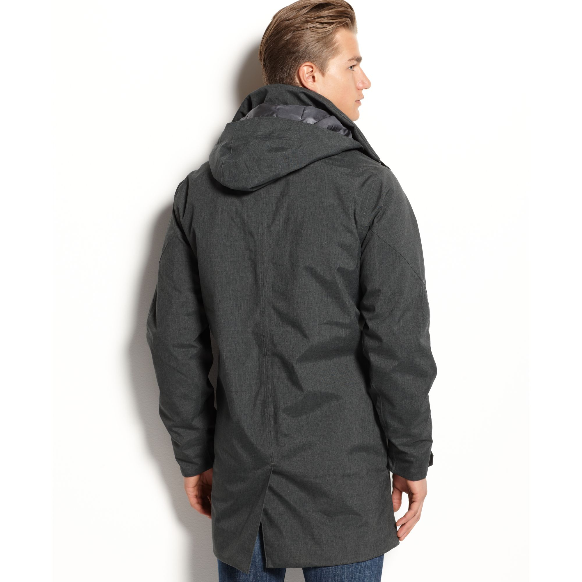 Marmot Uptown Waterproof Coat In Gray For Men Lyst
