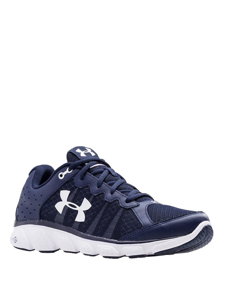 Under Armour Assert 6 Running Shoes In Blue For Men Lyst