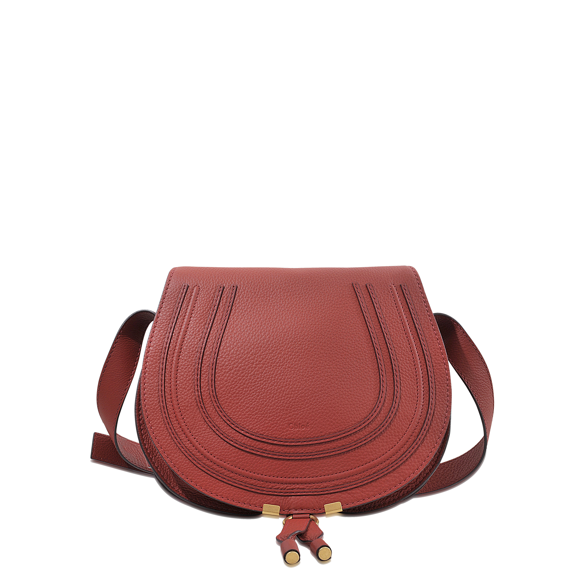 best hand bags - Chlo�� Medium Marcie Saddle Bag in Brown | Lyst
