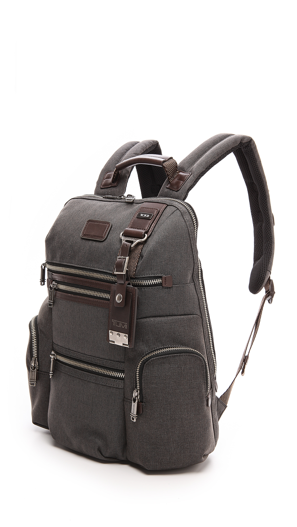 Tumi Alpha Bravo Knox Backpack in Anthracite (Grey) for Men