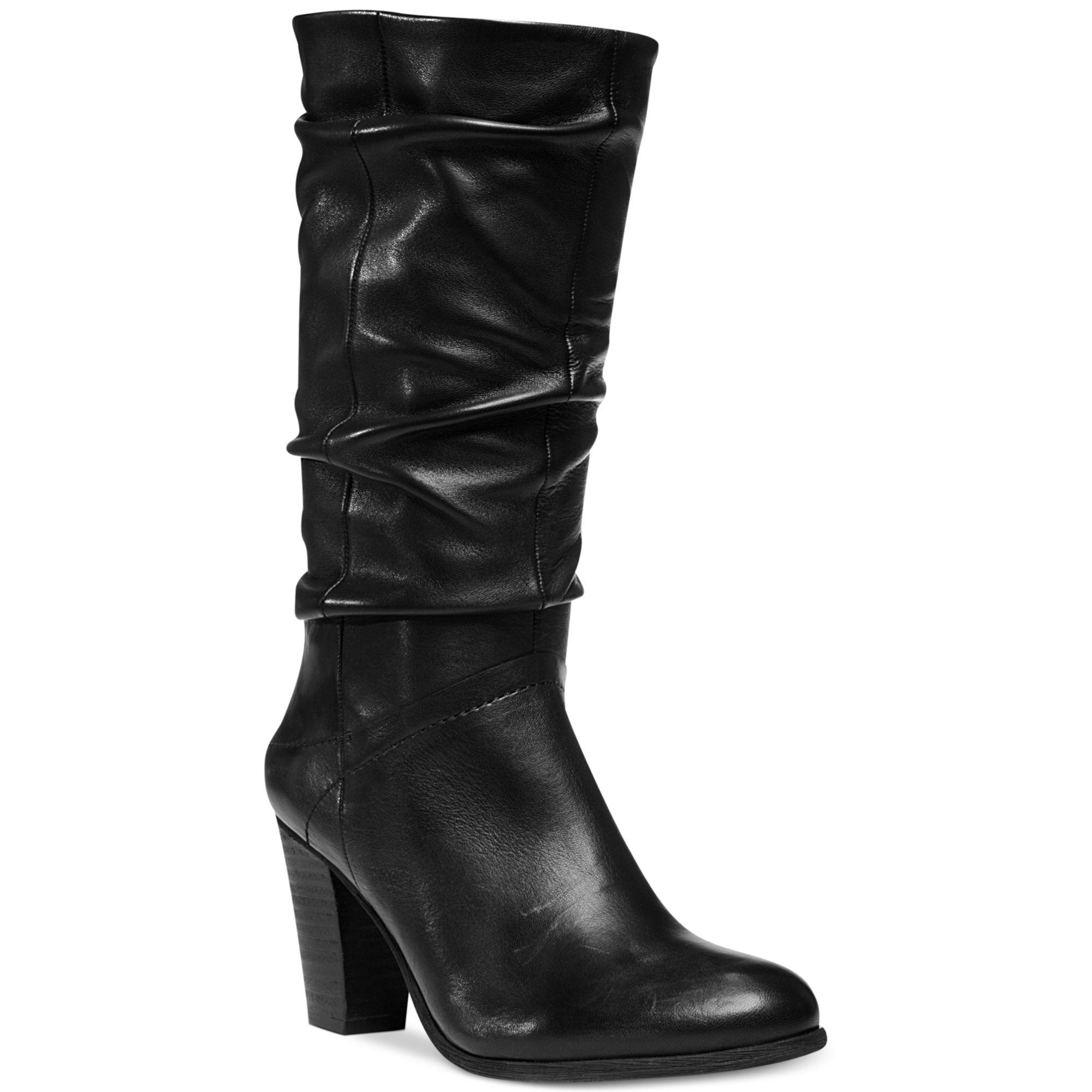 47f278183d4 Lyst - Steve Madden Womens Loretta Slouch Boots in Black
