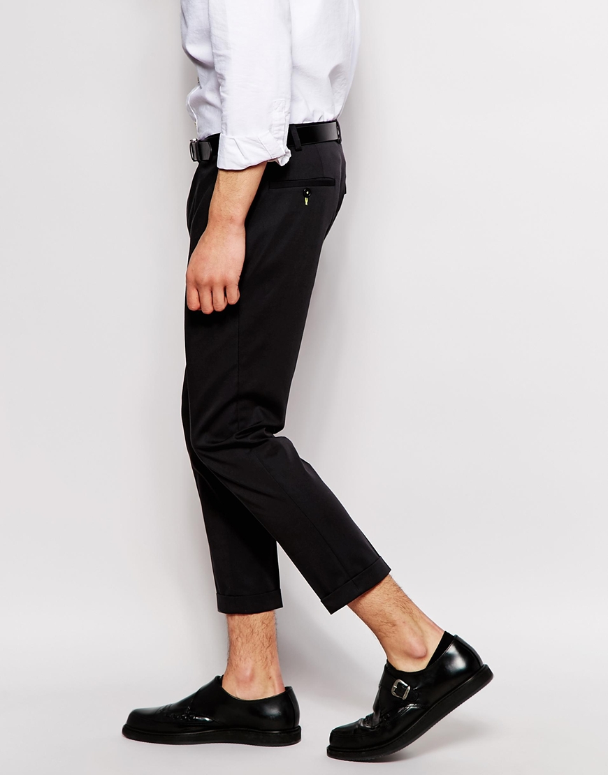 Mens Black Capri Pants - Pant Row