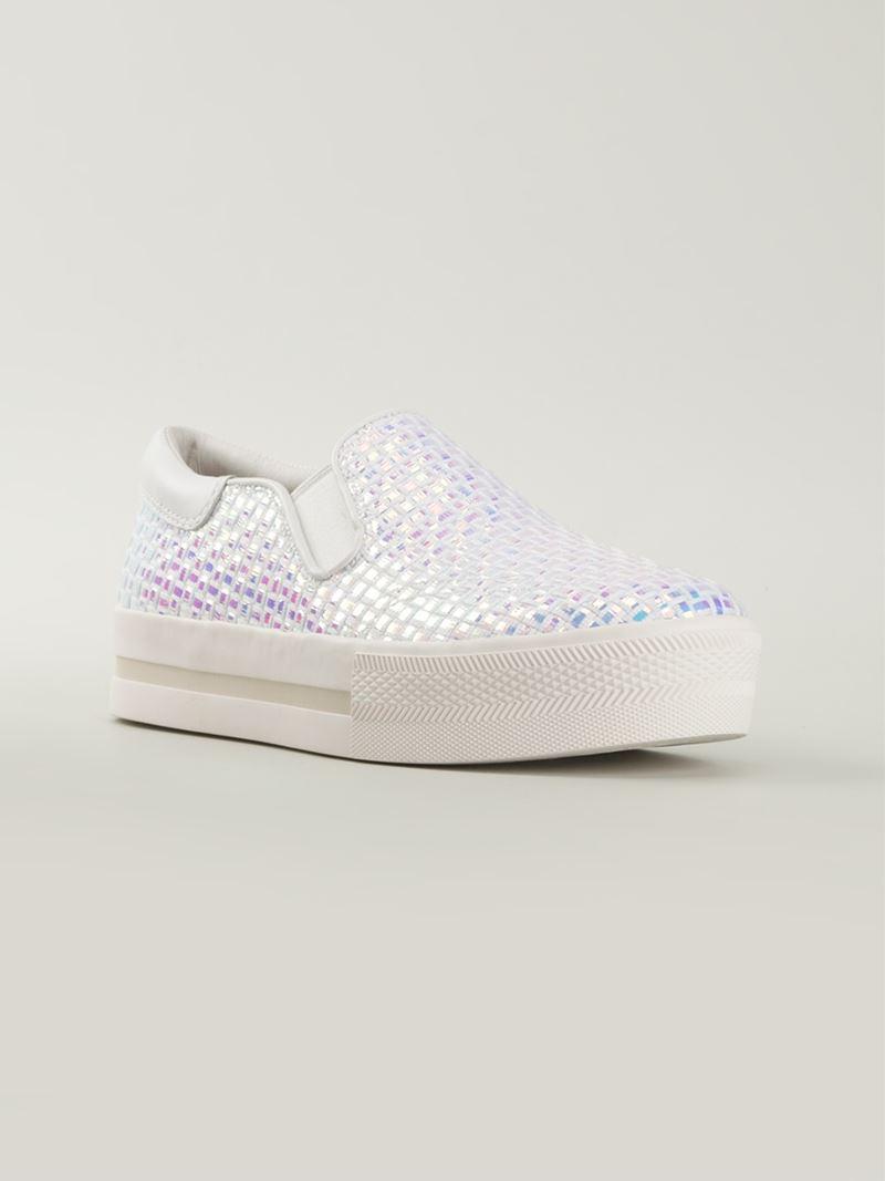 Ash Jam Metallic Slip-On Sneakers