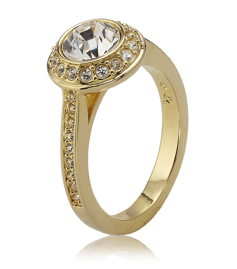 Angelic Ring Swarovski Gold