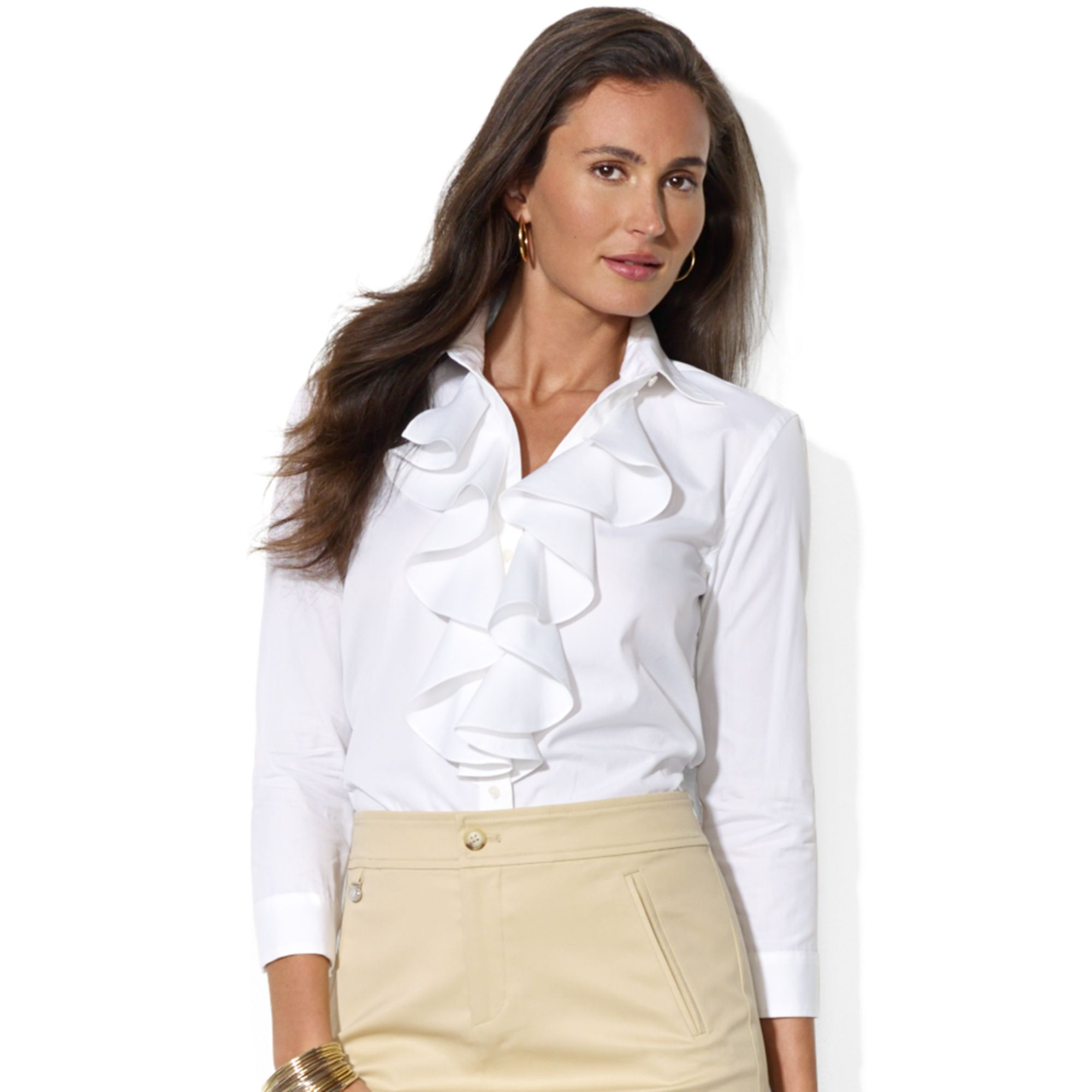 Find long sleeve ruffle blouse at ShopStyle. Shop the latest collection of long sleeve ruffle blouse from the most popular stores - all in one place.