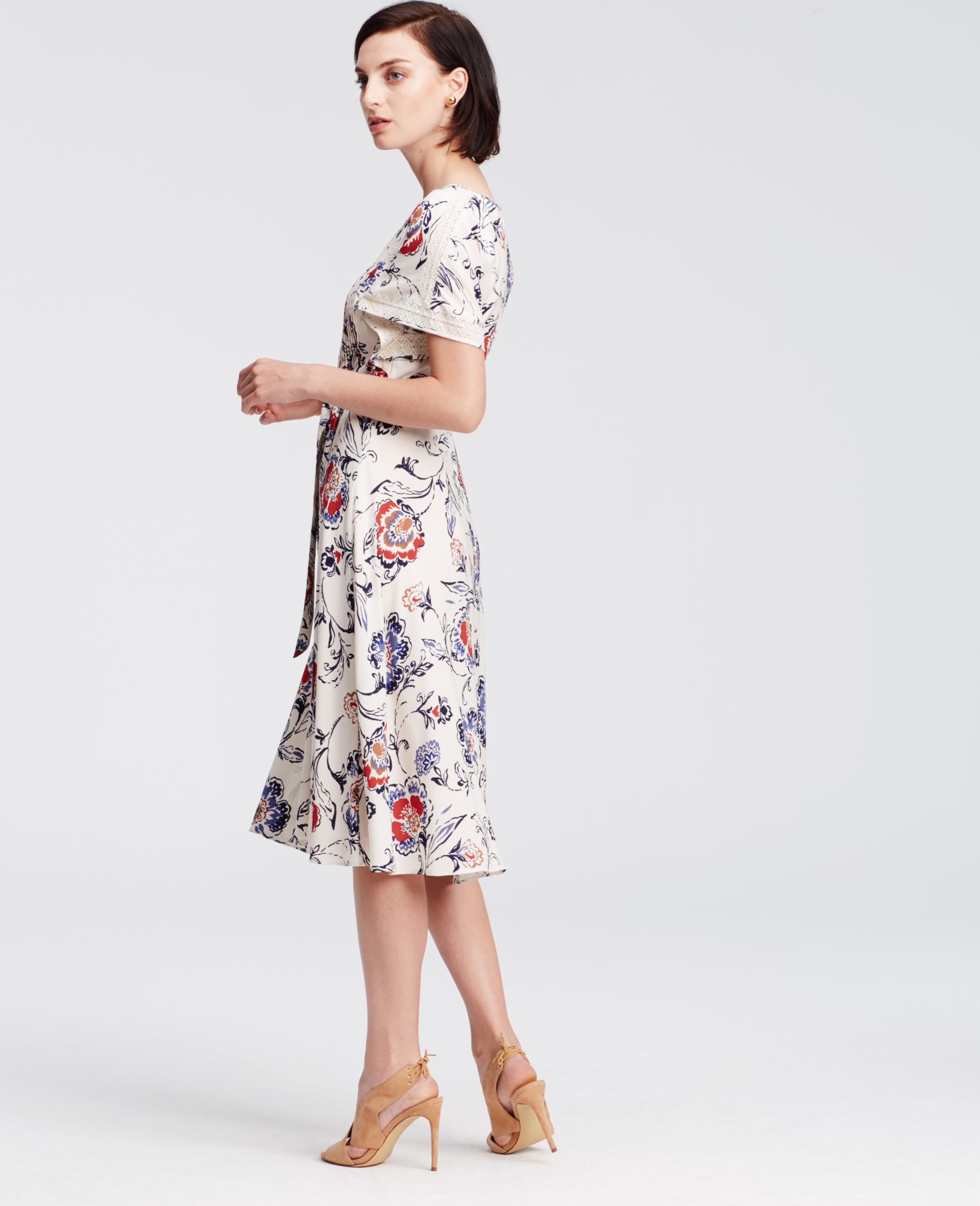 Wholesale Ann Taylor Floral Lace Dress 87cf0 55431
