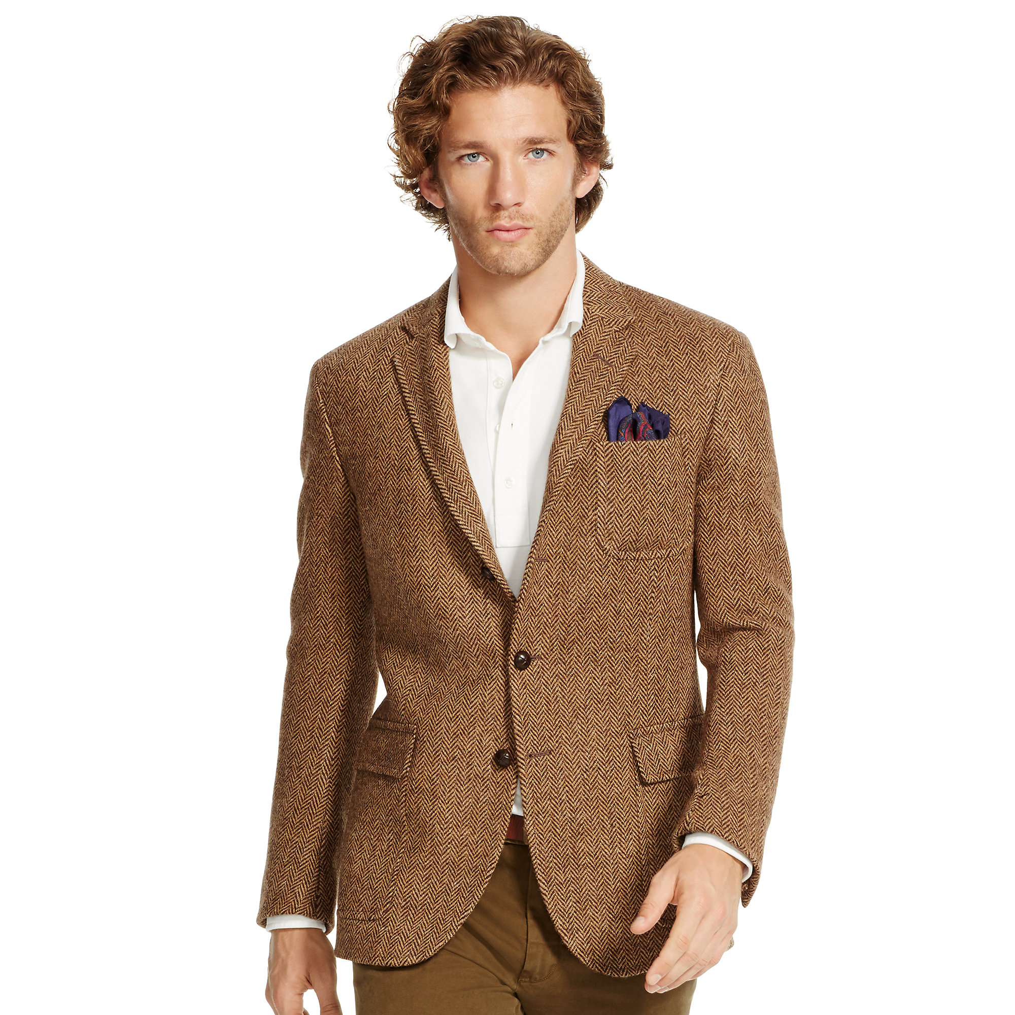 Lyst Polo Ralph Lauren Polo Herringbone Sport Coat In