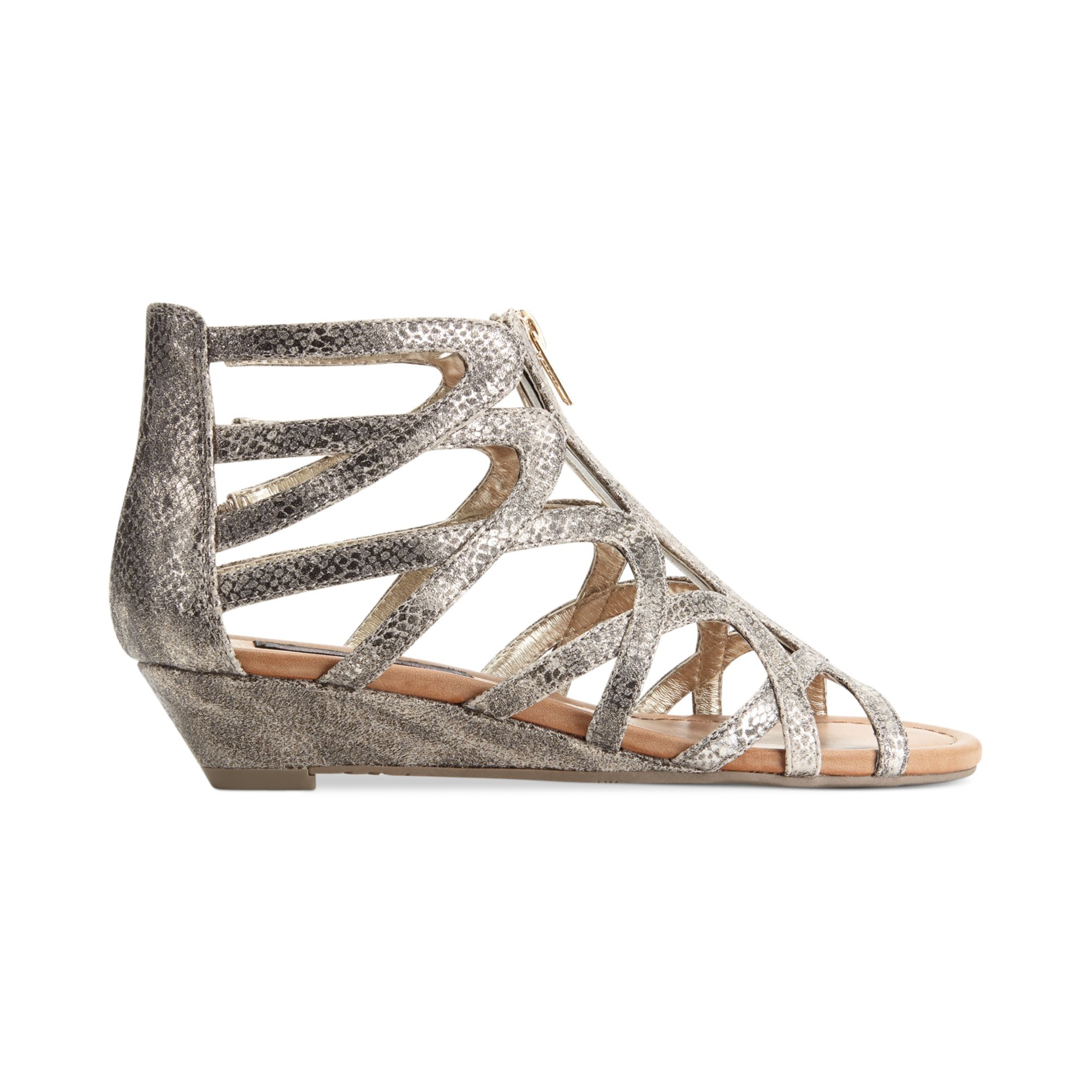 Is Material Girl Shoes Metallic Gold Or Gold