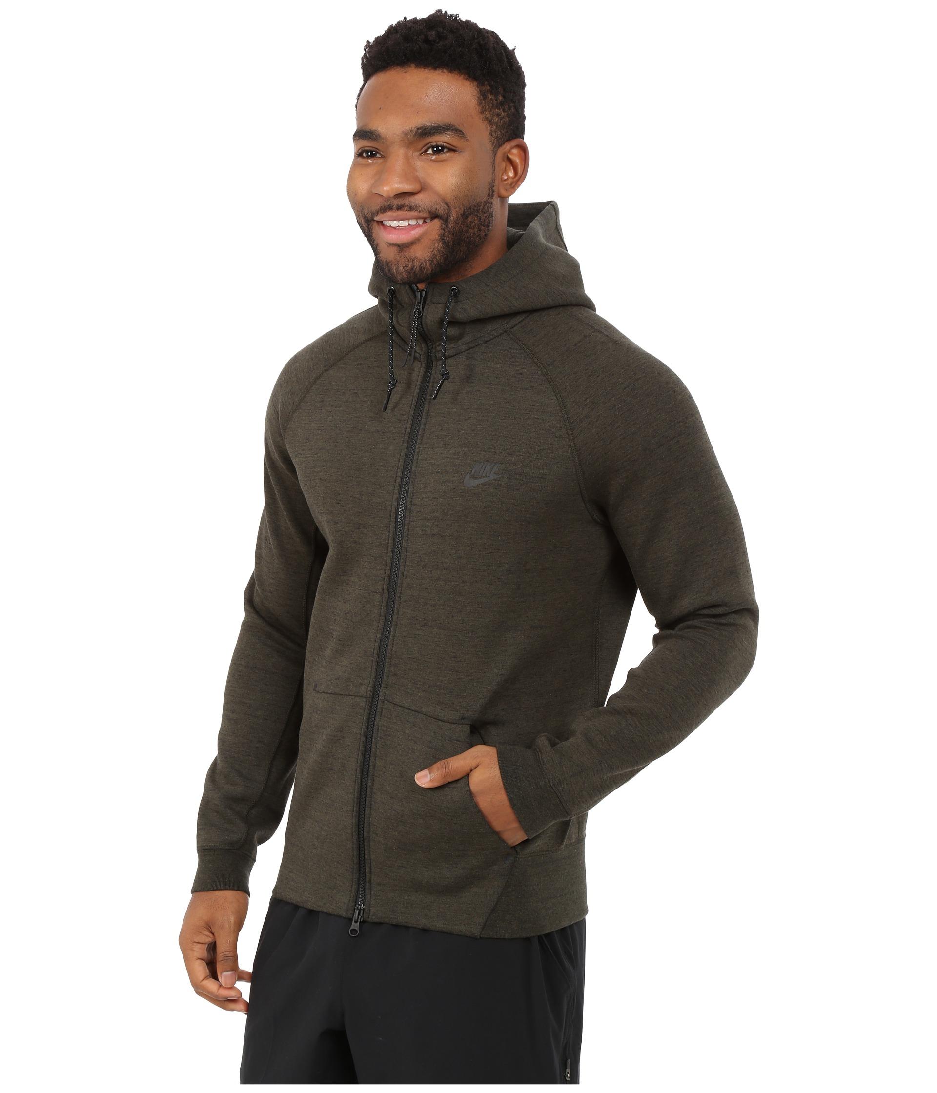on sale 70463 0b8af Lyst - Nike Tech Fleece Aw77 1.0 Full-zip Hoodie in Natural
