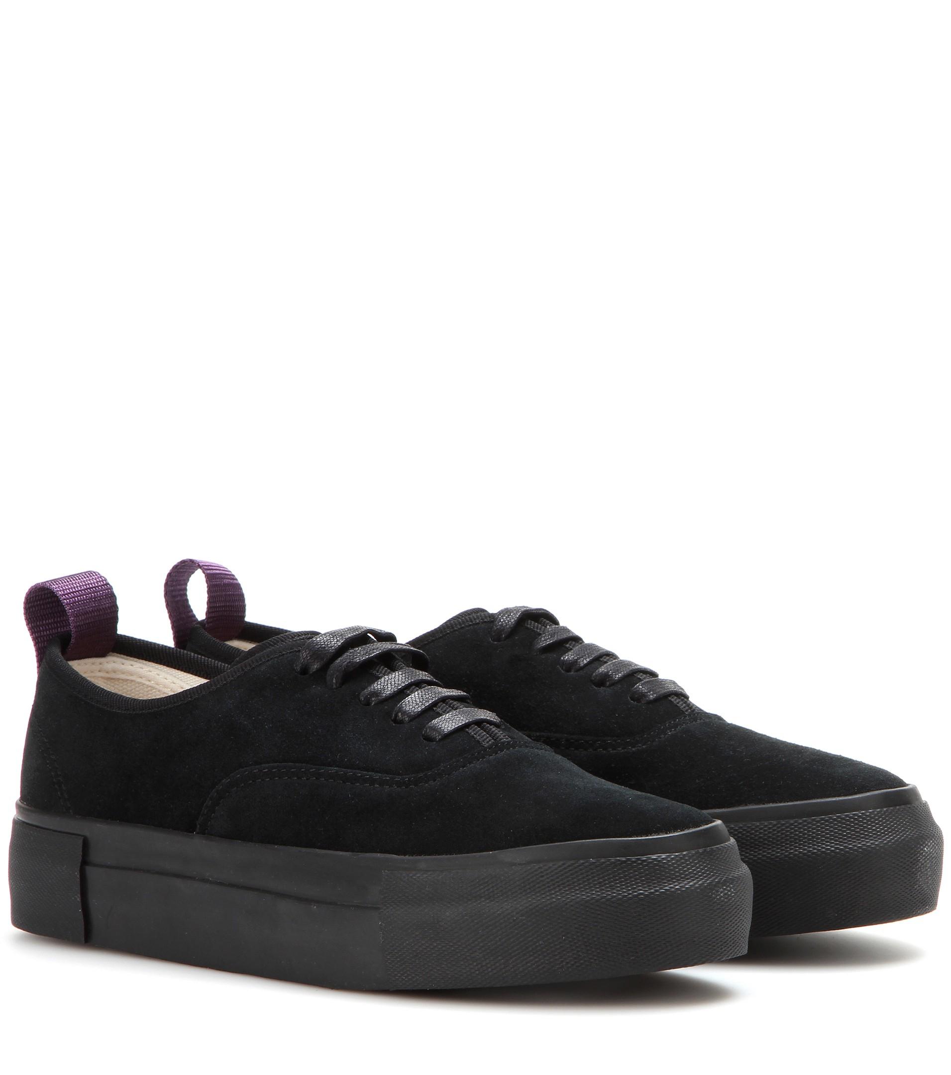 Black Suede mother sneaker Eytys VWfaA3